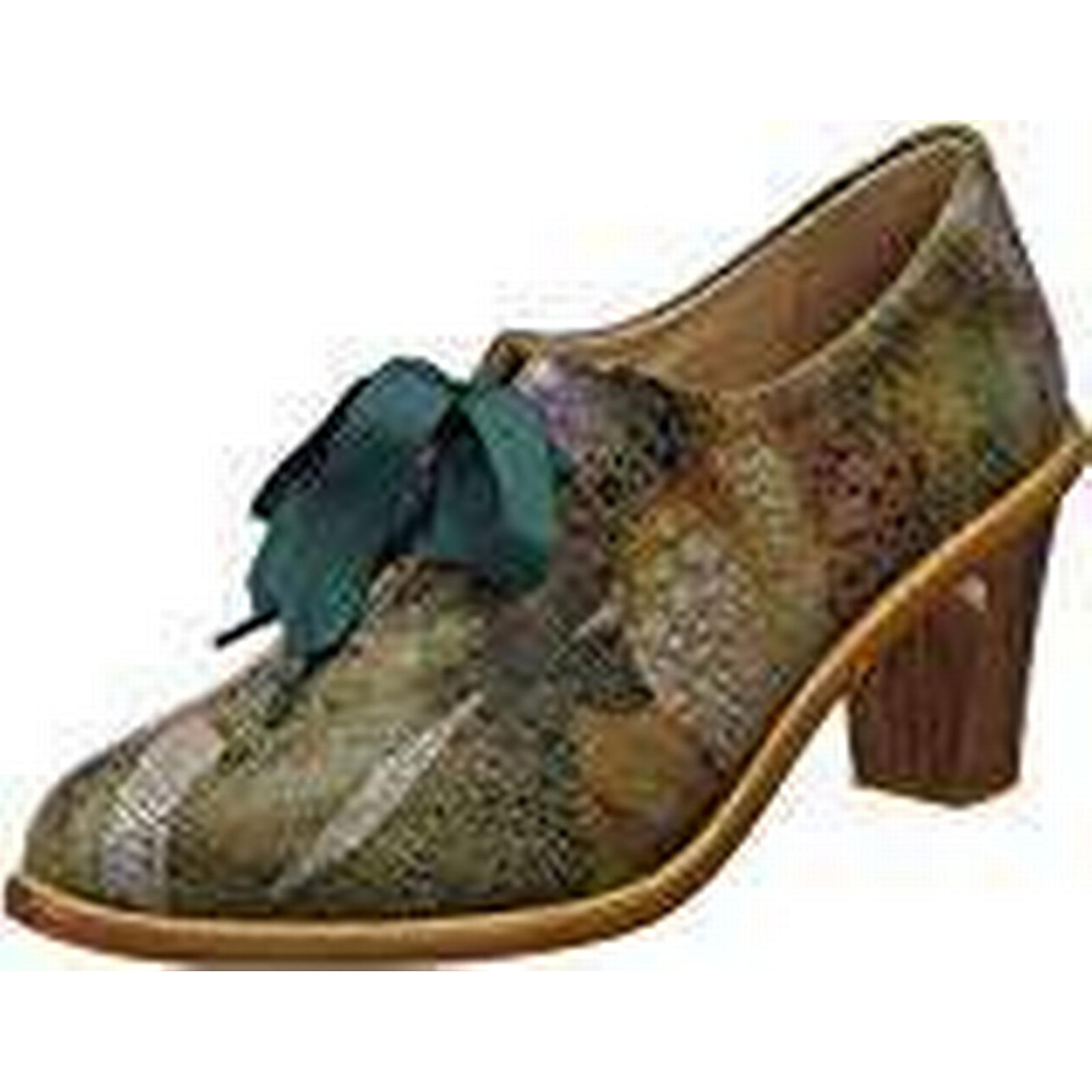 Neosens Women''s S534 Fantasy Floral Multicolour, Taupe/Cynthia Closed Toe Heels, Multicolour, Floral 5 UK 1c90d9