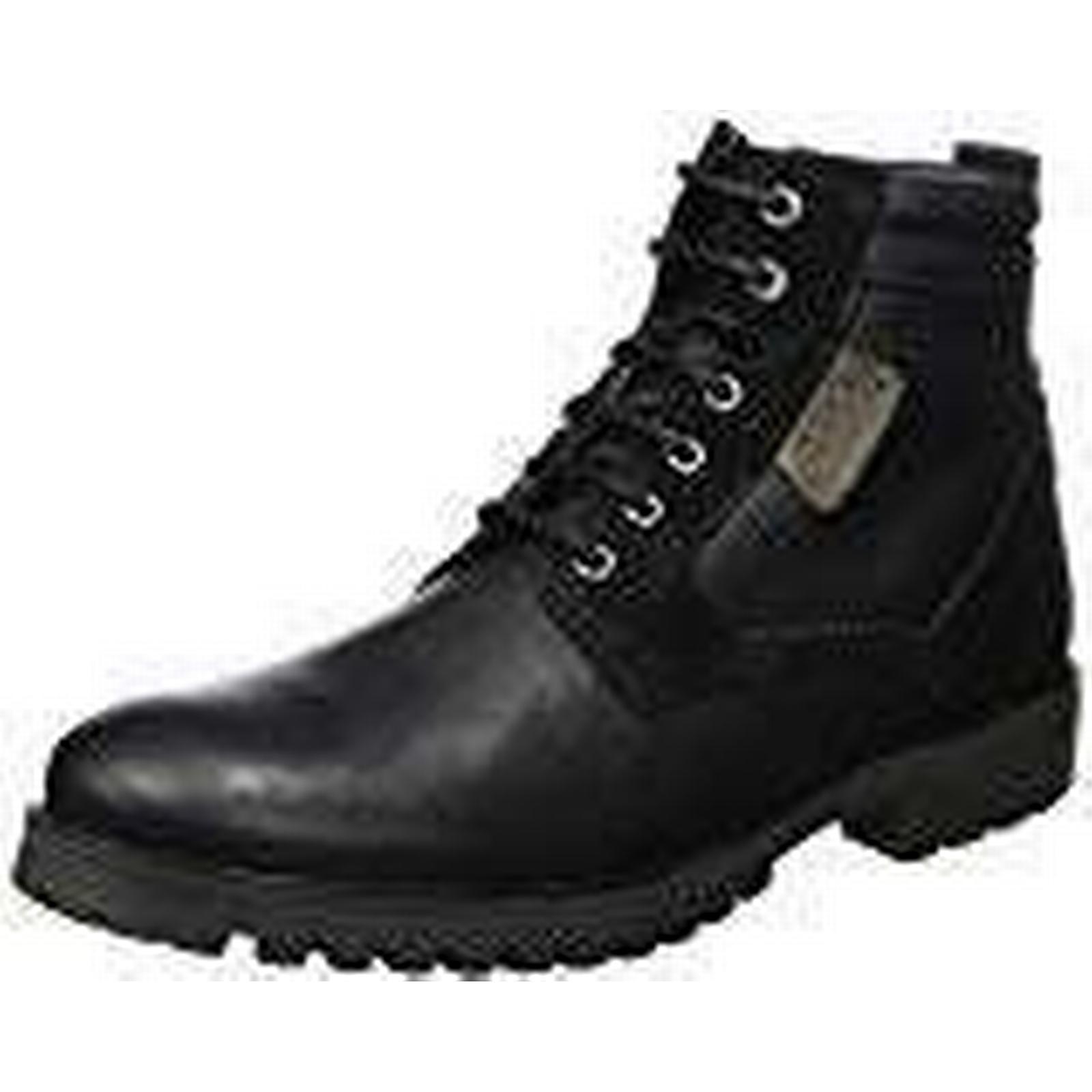 Salamander Men's Brad Biker Boots, UK Black (Black 01), 9 UK Boots, 94b6f1