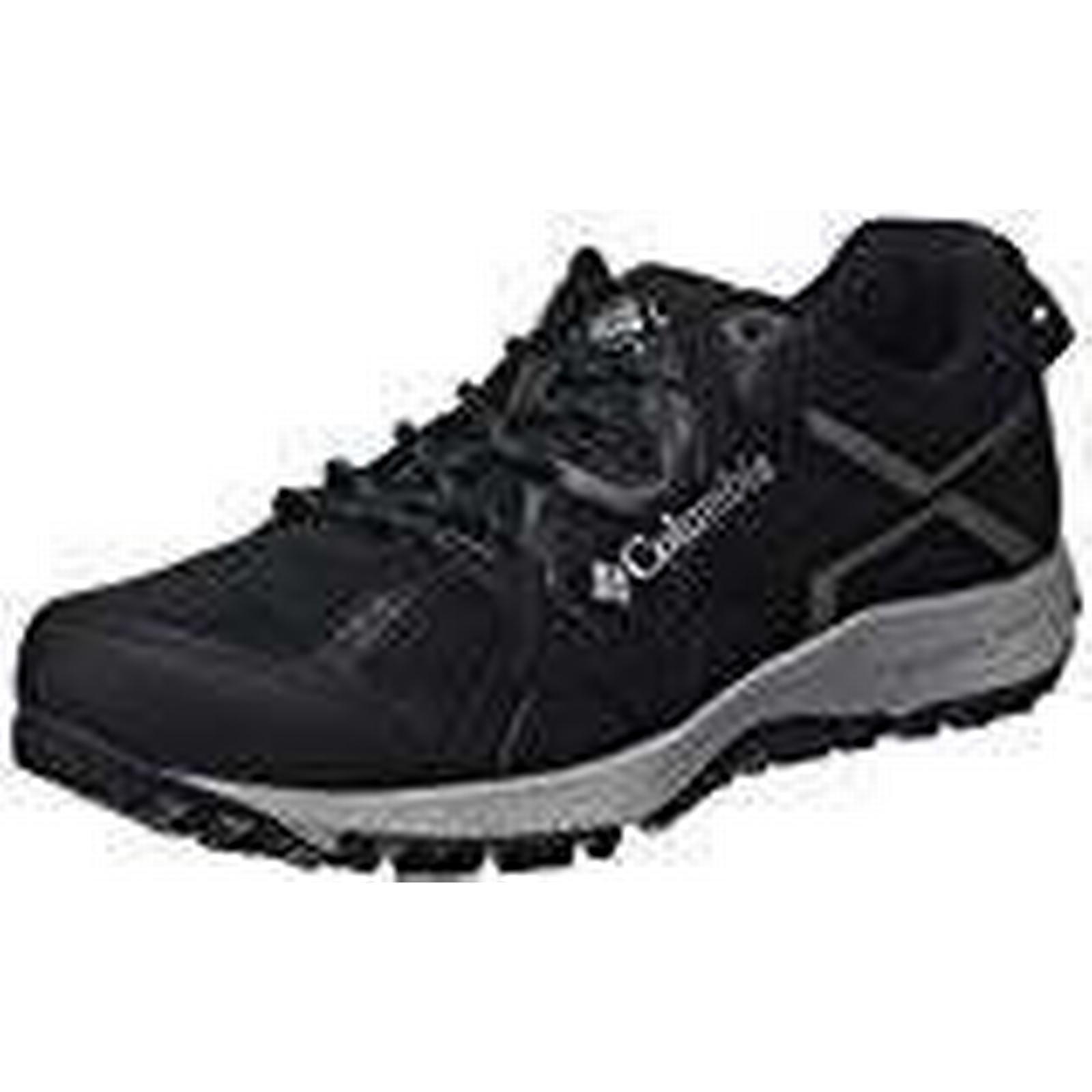 COLUMBIA Men's SWITCHBACK Multisport Shoes, Waterproof, CONSPIRACY SWITCHBACK Men's III OMNI-TECH, Black (Black, Lux), Size: 8.5 3dce96