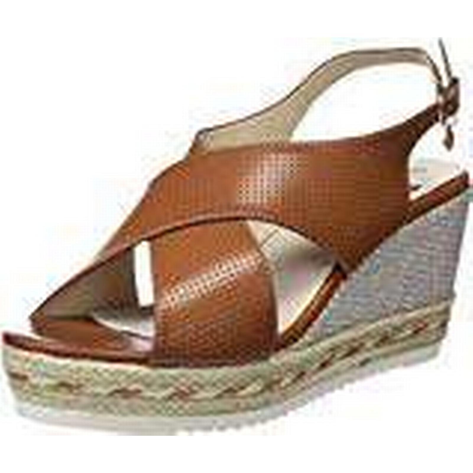 XTI Women's 47655 (Camel), Open Toe Sandals, Brown (Camel), 47655 5.5 UK 580d45