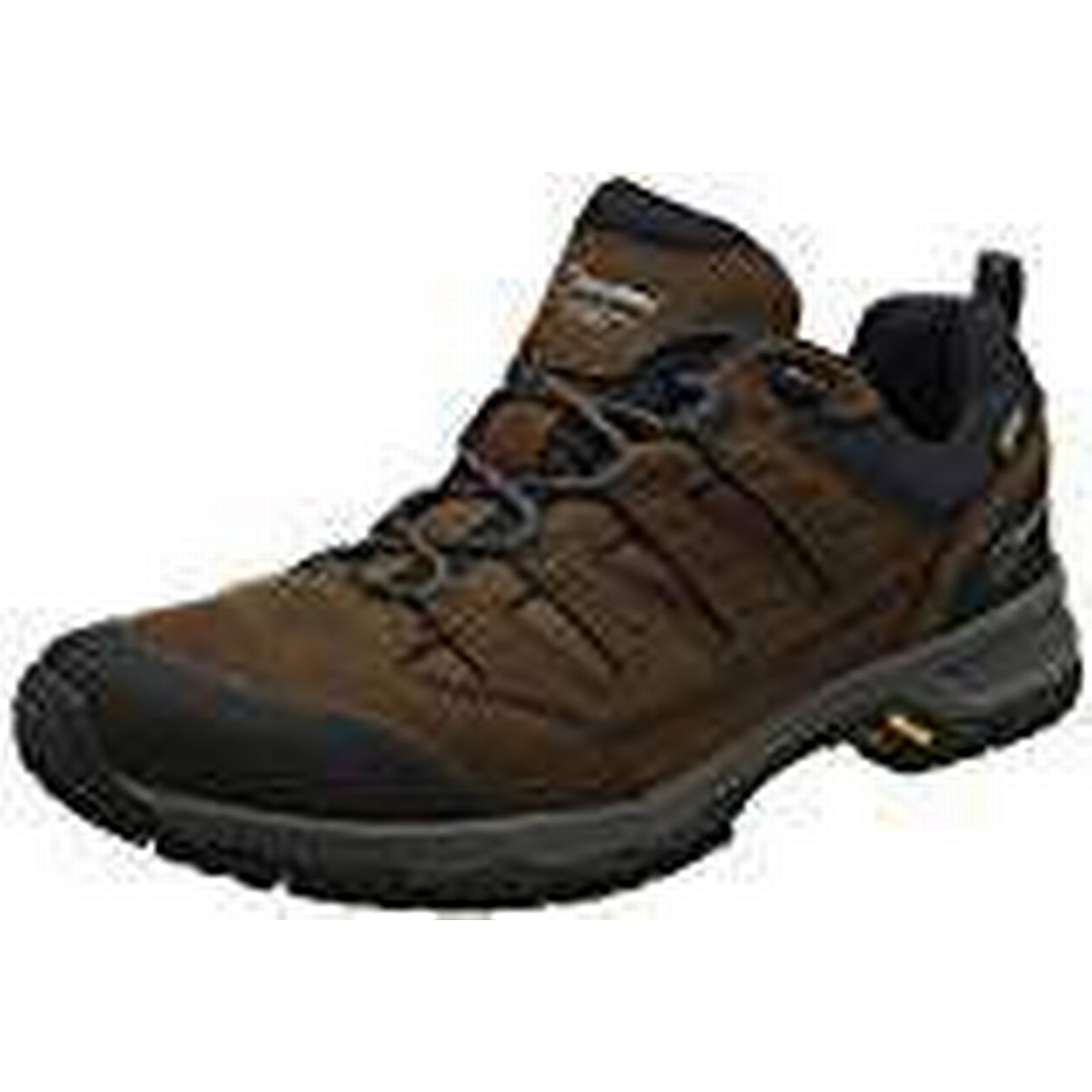 Berghaus Men's Fellmaster Low Active Gore-Tex Walking Shoes Low Fellmaster Rise Hiking Boots, (Brown/Burnt Orange X11), 8 UK 42 EU 656987