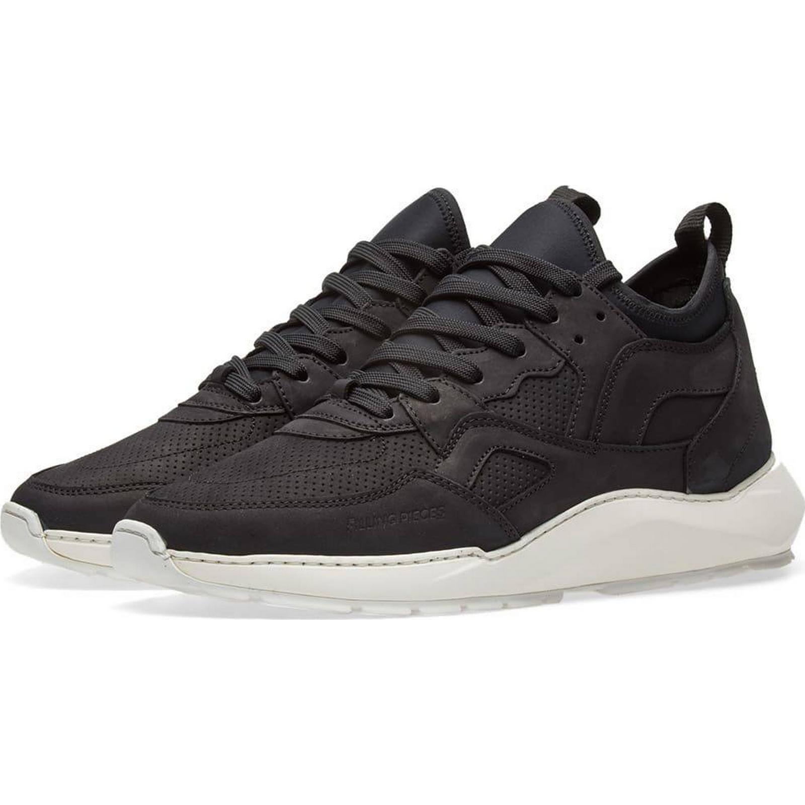 Filling Pieces Black-Men's/Women's-2018 Low Arch Runner Sneaker Black-Men's/Women's-2018 Pieces New 408dd2