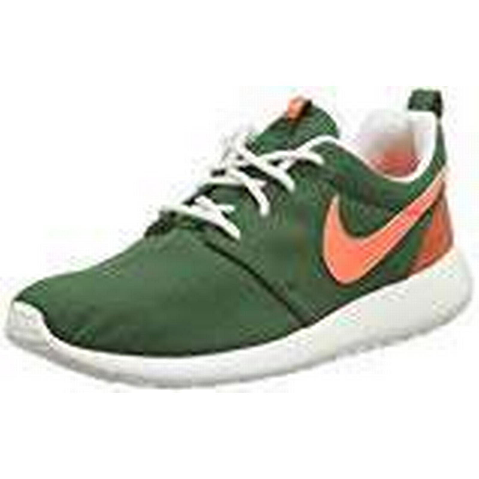 NIKE Women's WMNS Roshe Shoes, One Retro Training Running Shoes, Roshe Multicolor (Green/Orange), 5.5 UK 39 EU 39ec4e