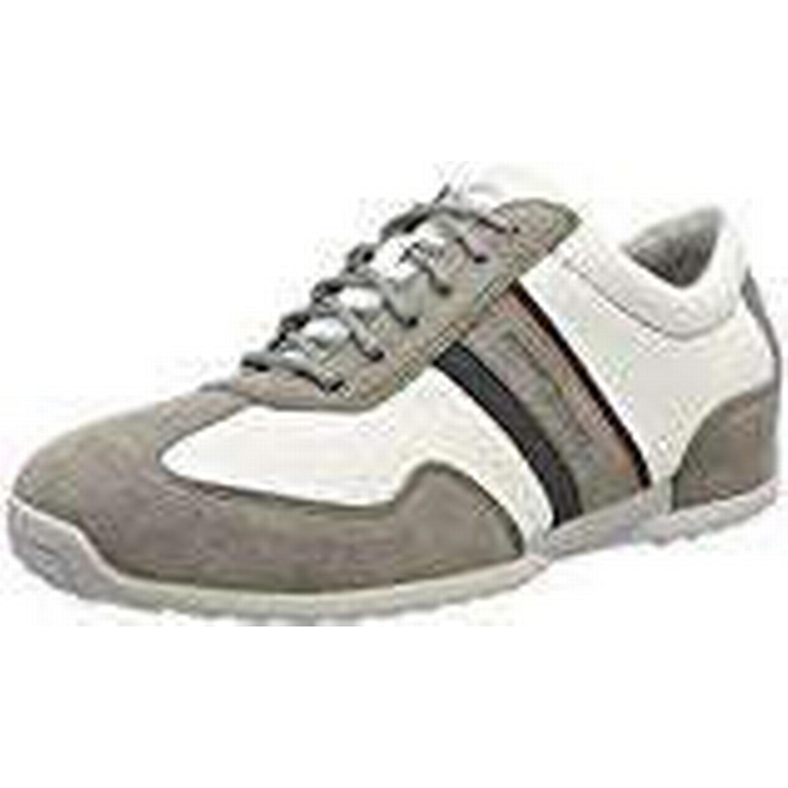 Camel active Men's Space 9 24 Low-Top Sneakers (Midgrey/White/Navy), 9 Space UK 49e757