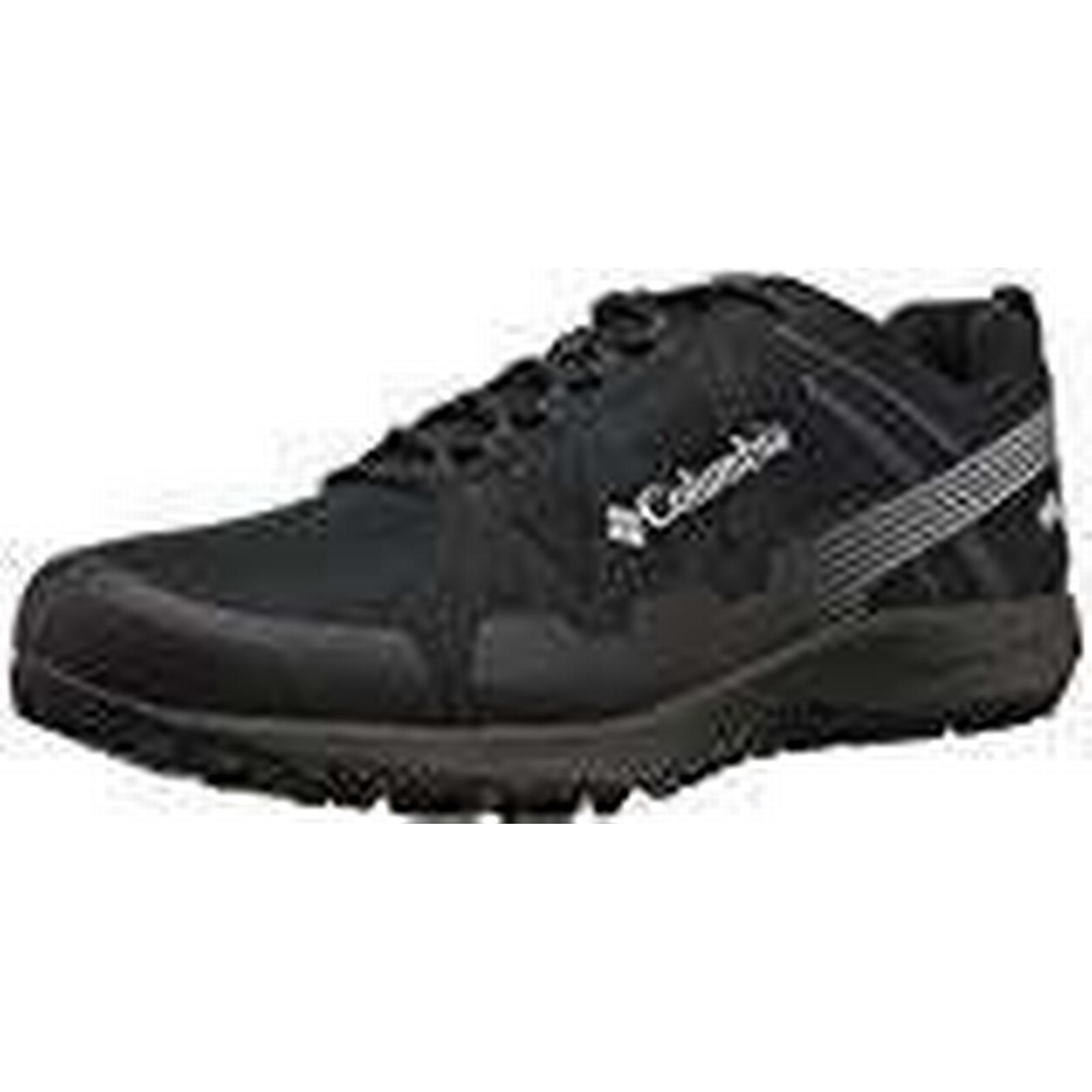 Columbia Men's Conspiracy V Outdry Low (Black/Lux), Rise Hiking Shoes, Black (Black/Lux), Low 12 UK (46 EU) 99d331