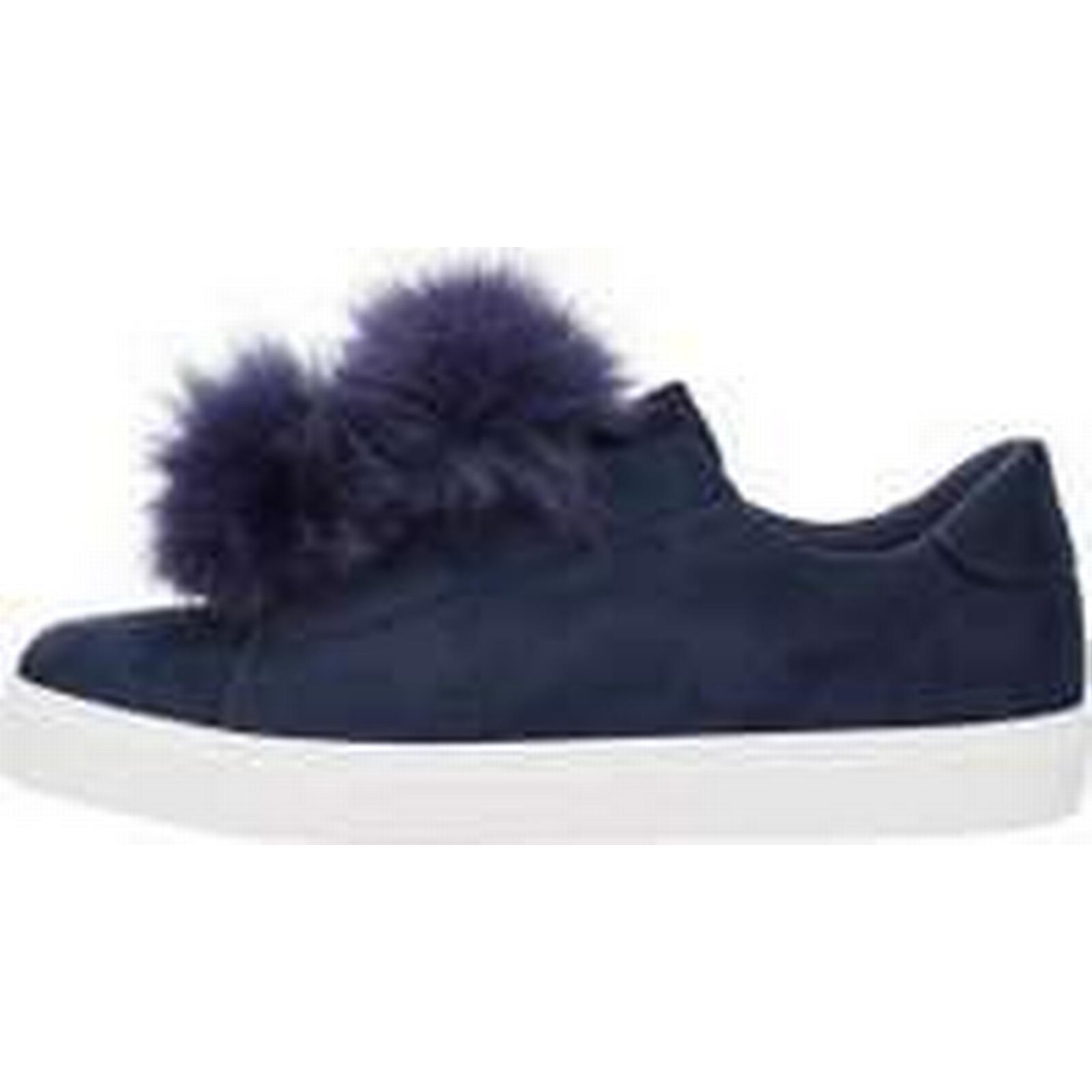 BIANCO Pom Pom Pom BIANCO Sneakers Women Blue (38) 8a2640
