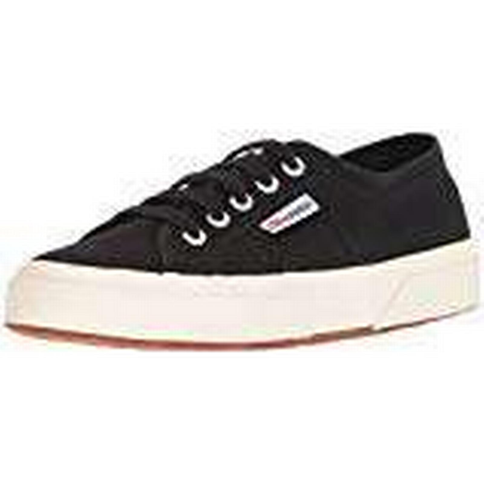 Superga 2750 6.5 Cotu Classic, Unisex Adults' Low-Top Sneakers, Black, 6.5 2750 UK (40 EU) fc5806
