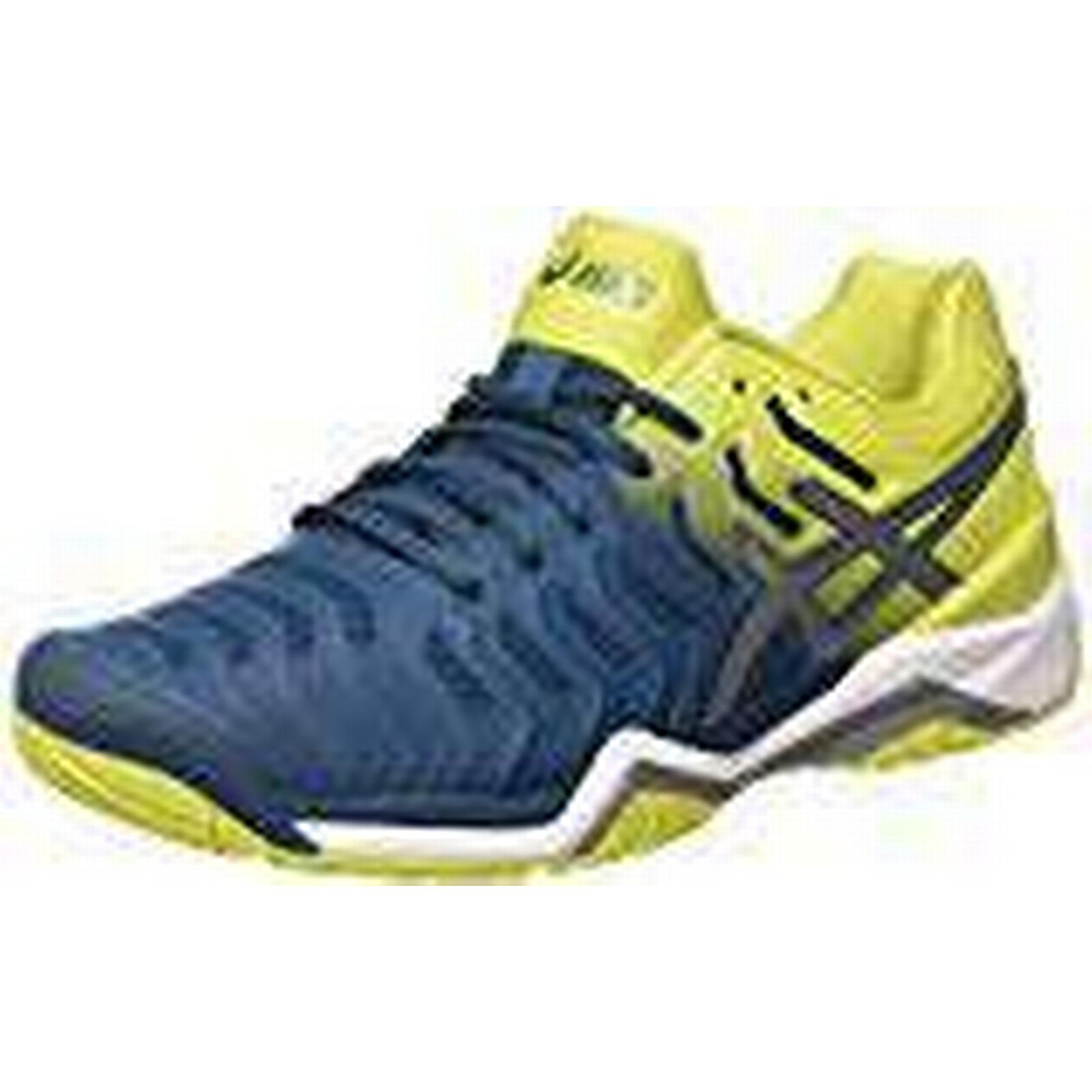 Asics Men's (Ink Gel-Resolution 7 Tennis Shoes (Ink Men's Blue/Sulphur Spring/White 4589), 12 UK 859c5d
