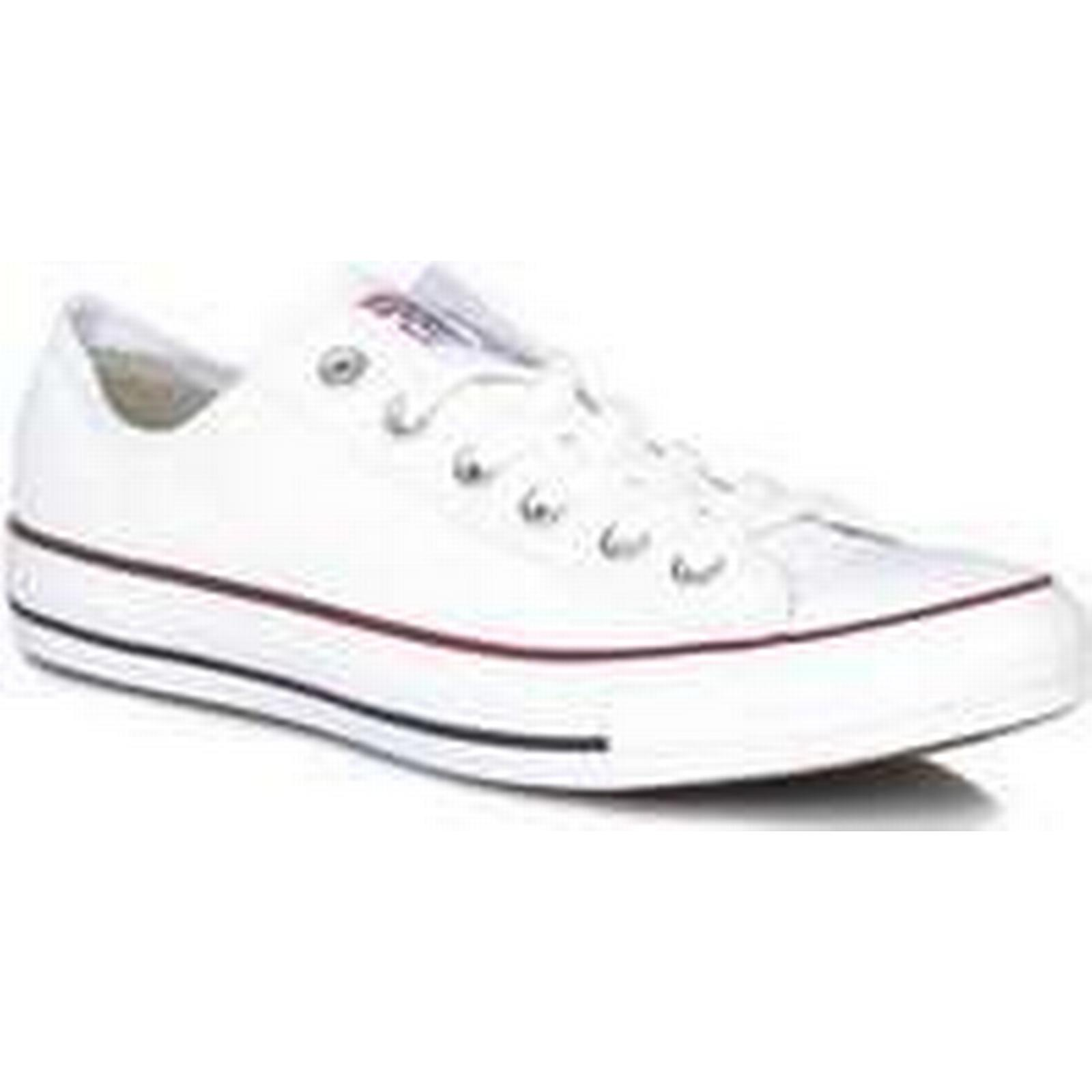 Spartoo.co.uk men's Converse Mens Womens White All Star Low Trainers men's Spartoo.co.uk Shoes (Trainers) in White 1e9a9e