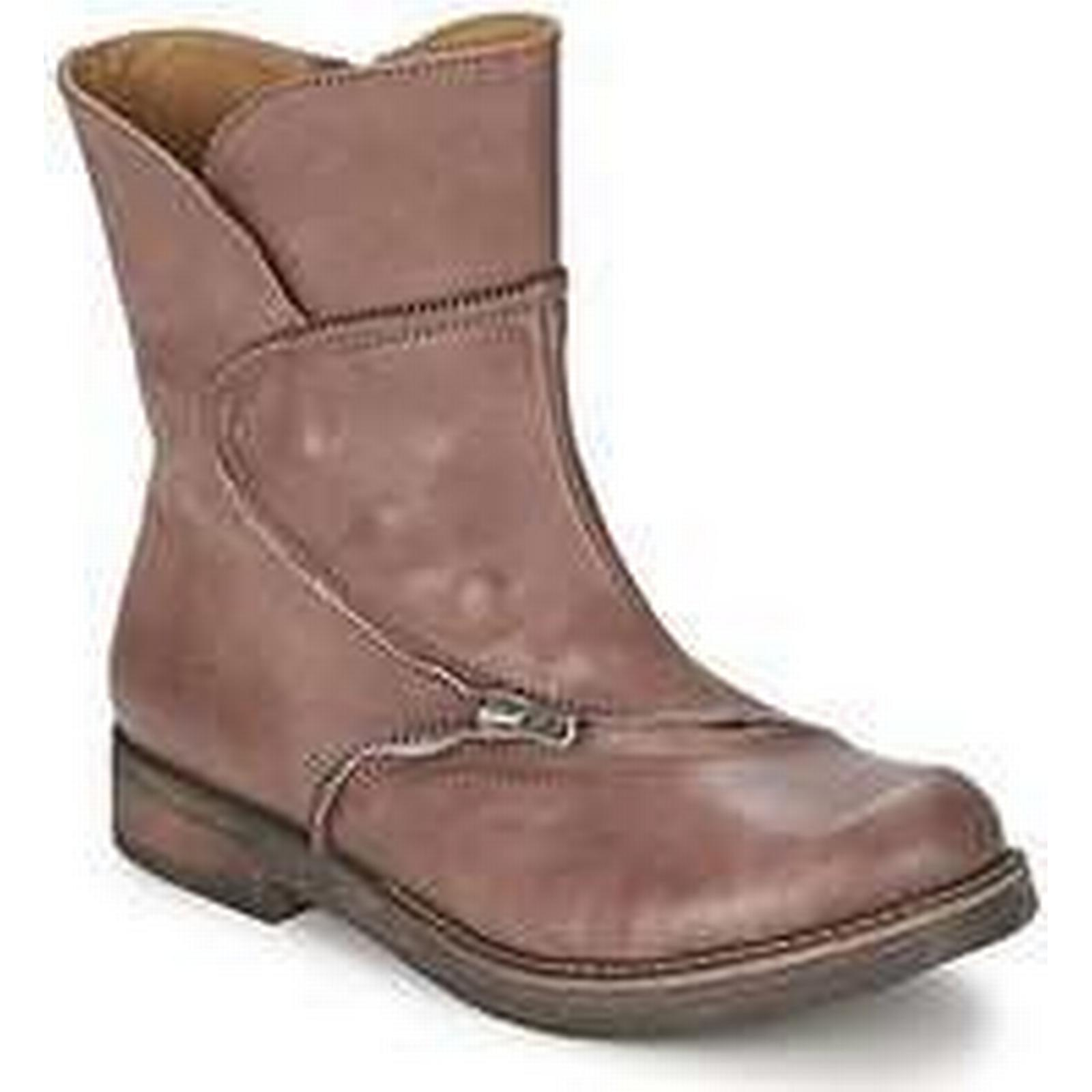 Spartoo.co.uk Dkode UDINI Boots women's Mid Boots UDINI in Brown 86b33e