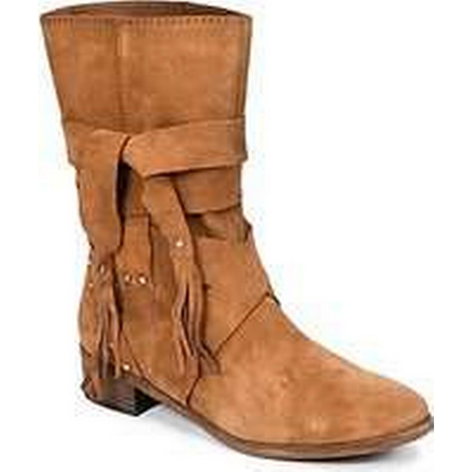 Spartoo.co.uk See by Chloé FLOREL Brown women's Mid Boots in Brown FLOREL 6638de