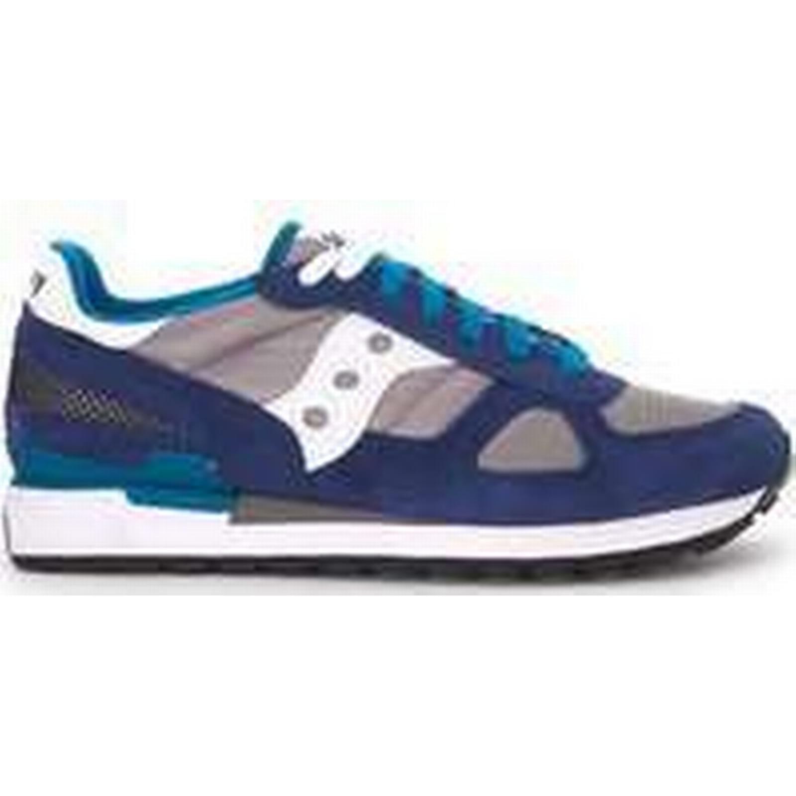 Spartoo.co.uk suede Saucony Sneaker Shadow in suede Spartoo.co.uk and grey and blue mesh fabric men's Shoes (Trainers) in Grey 5e4041