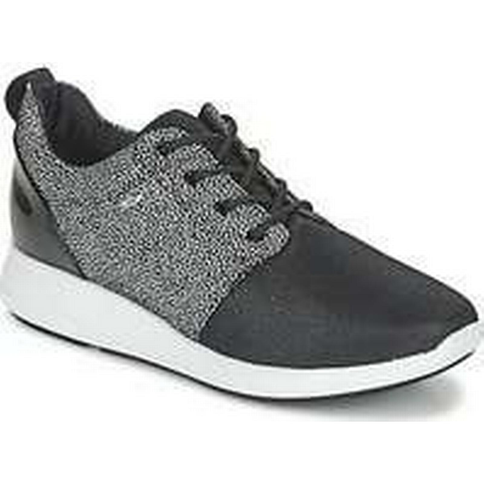Spartoo.co.uk Geox OPHIRA A in women's Shoes (Trainers) in A Black 651209