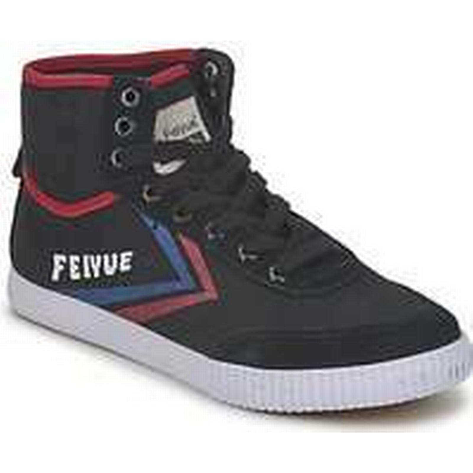 Spartoo.co.uk Feiyue A.S HIGH ORIGINE Trainers) 1920 men's Shoes (High-top Trainers) ORIGINE in Black e67bf3