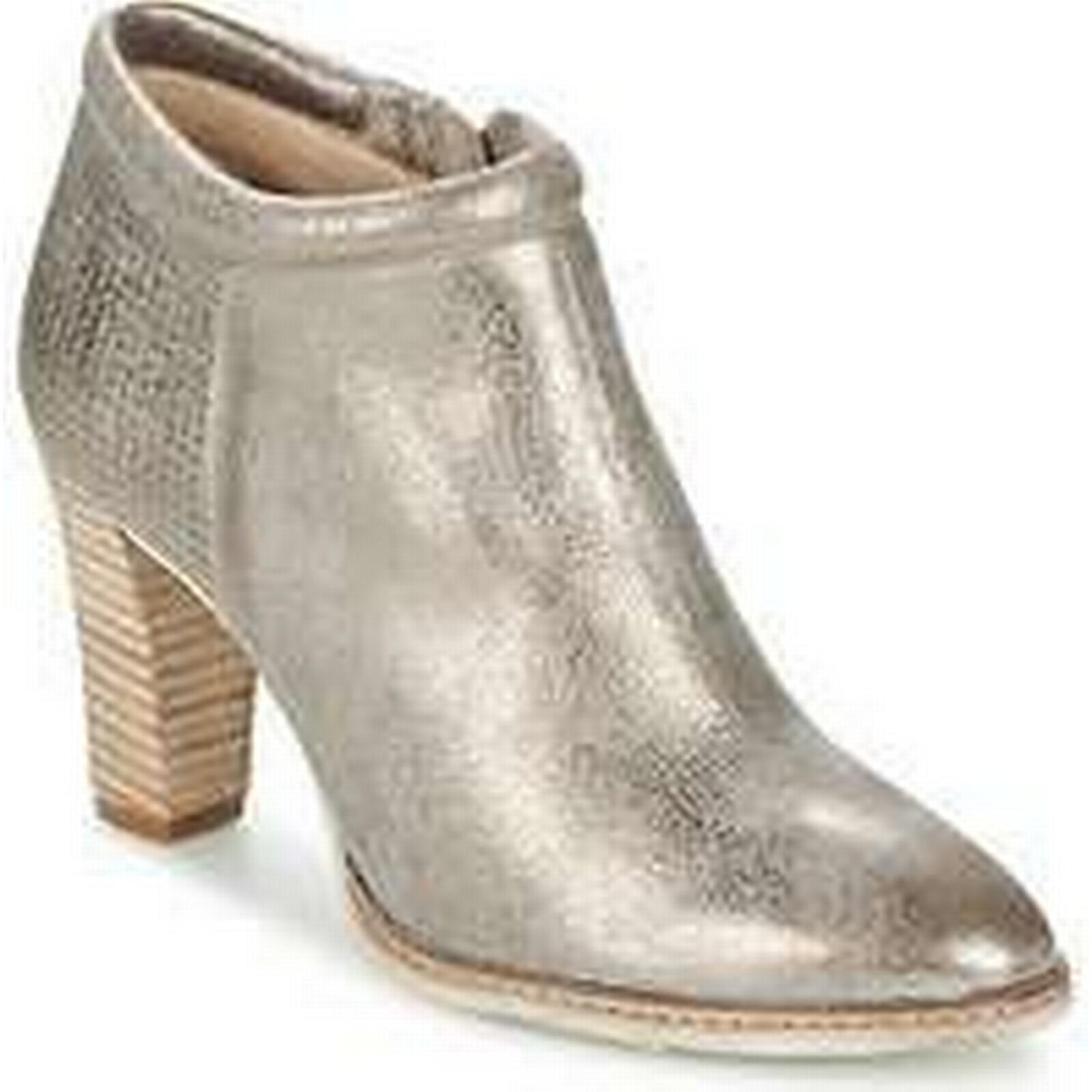Spartoo.co.uk Myma Ankle TELYR women's Low Ankle Myma Boots in Silver 4071af
