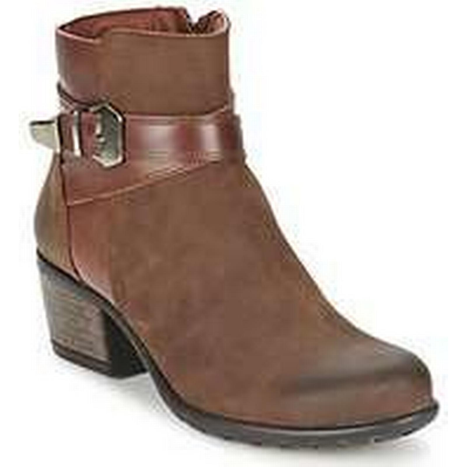Spartoo.co.uk Ankle Pitillos - women's Low Ankle Spartoo.co.uk Boots in Brown 938c68