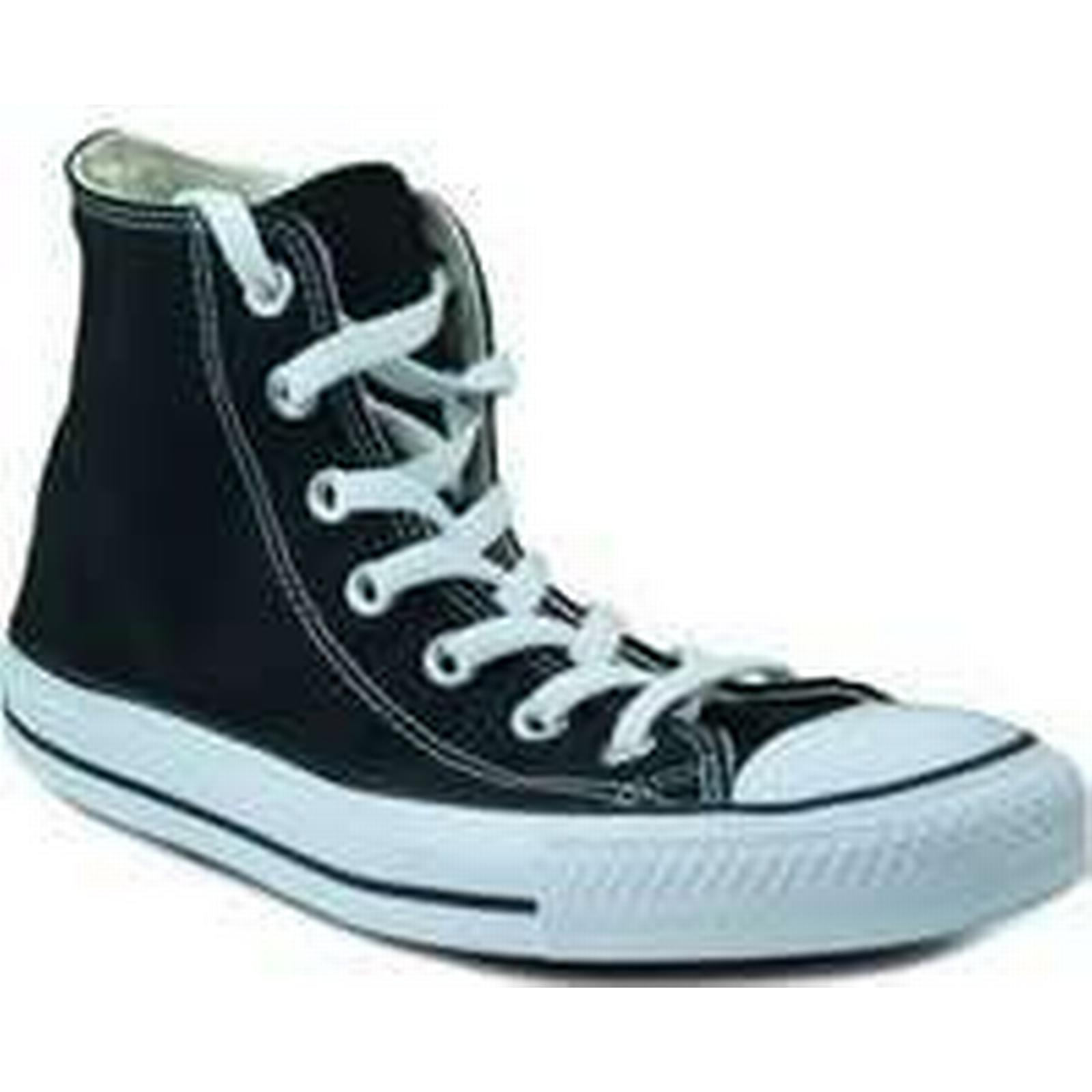 Spartoo.co.uk Converse canvas shoes high women's Black Shoes (High-top Trainers) in Black women's 184cbb