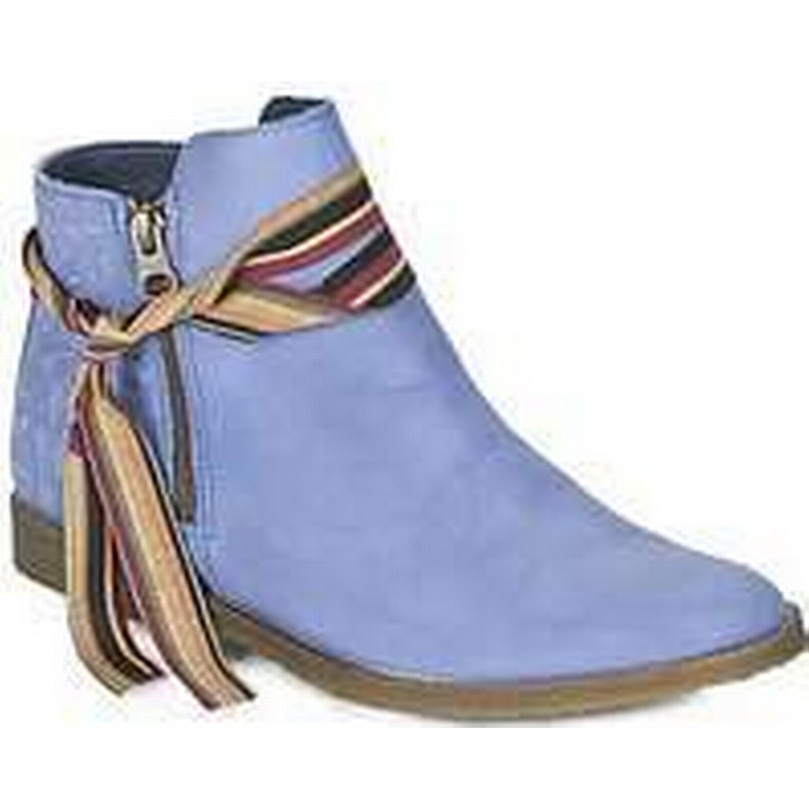 Spartoo.co.uk Felmini CLASH Boots women's Mid Boots CLASH in Blue e3f306