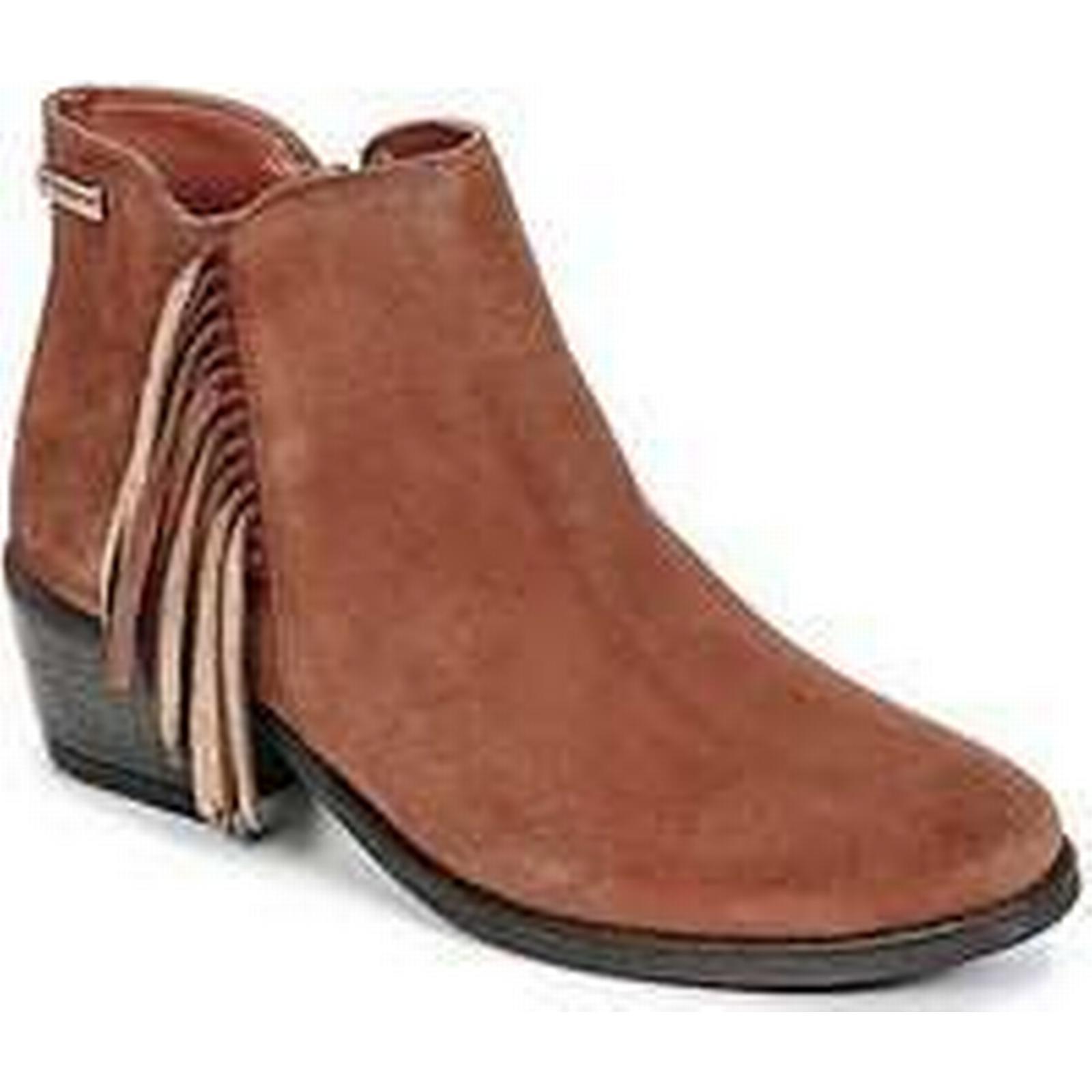 Spartoo.co.uk Les Tropéziennes par Low M Belarbi TIPI women's Low par Ankle Boots in Brown d91214