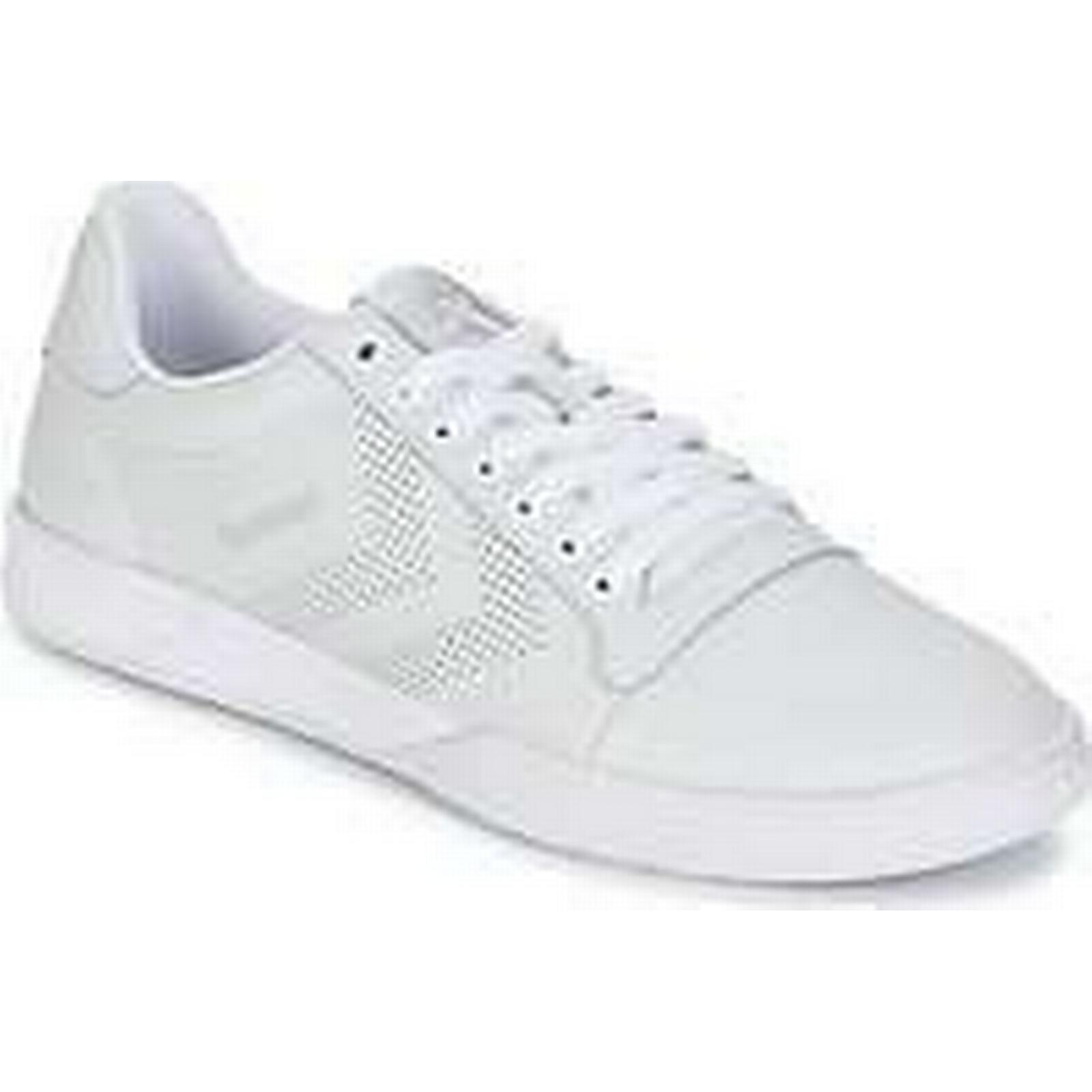 Spartoo.co.uk women's Hummel HML STADIL LO women's Spartoo.co.uk Shoes (Trainers) in White acbd39