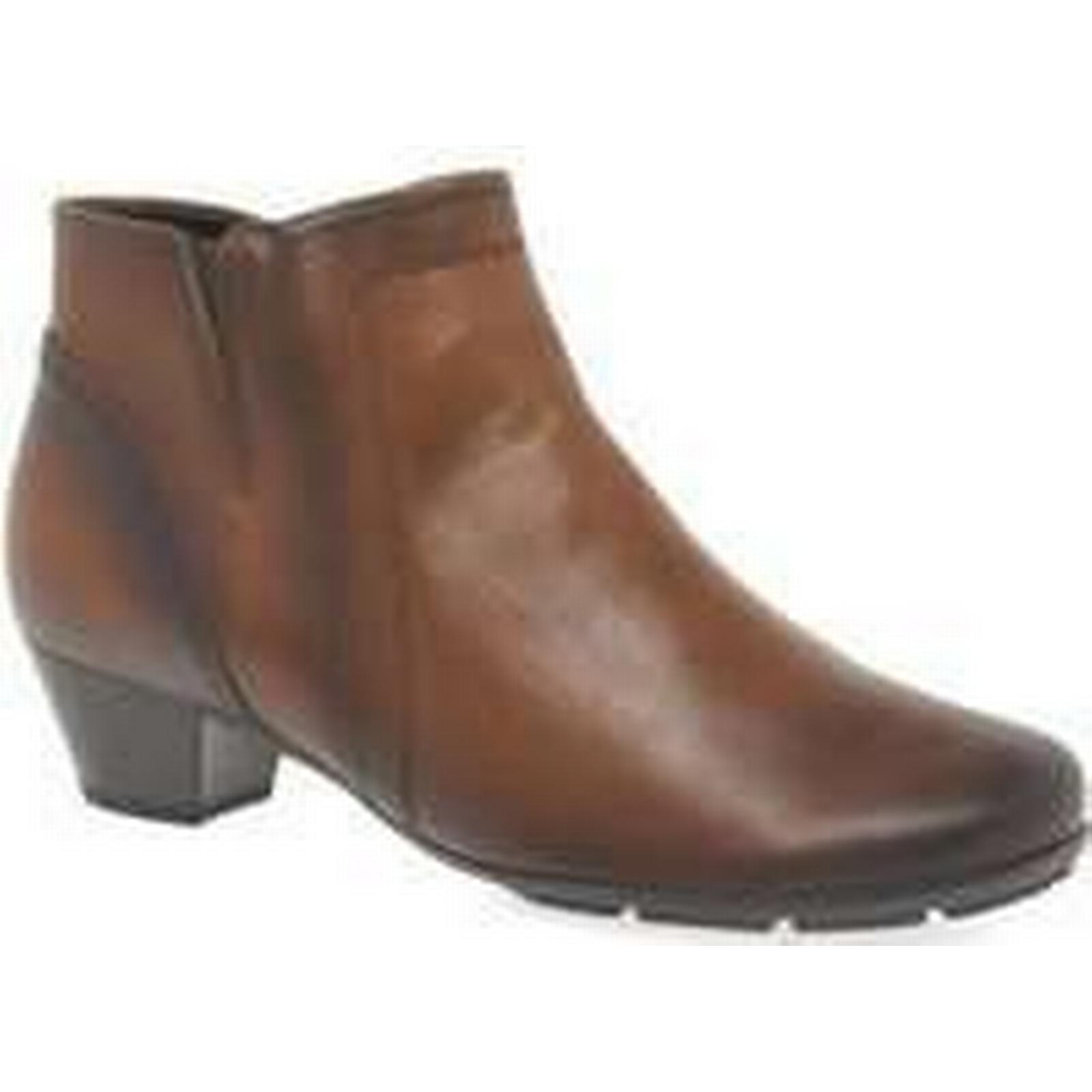 Spartoo.co.uk Gabor women's Heritage Womens Ankle Boots women's Gabor Low Ankle Boots in Brown a112b0