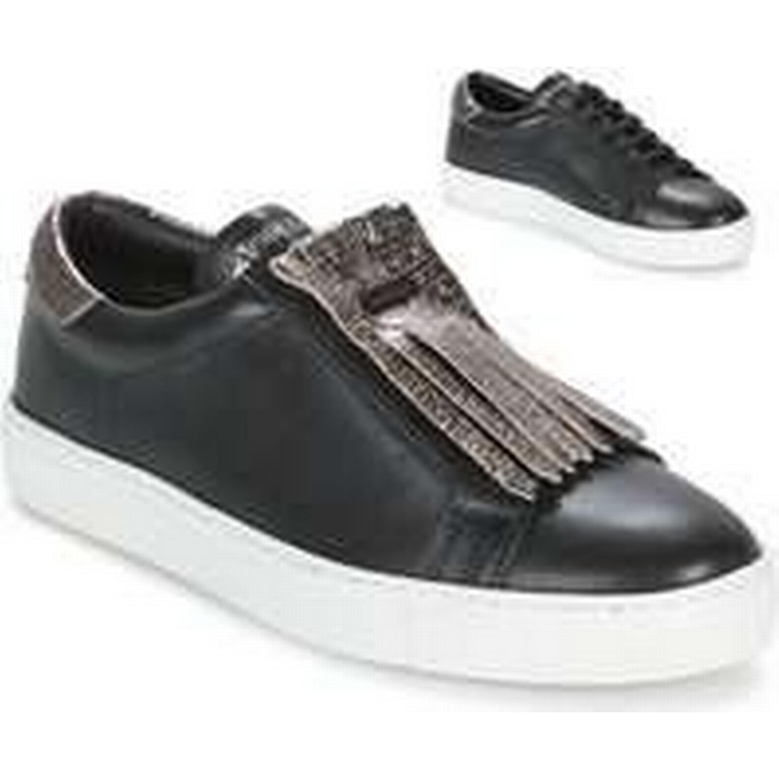Spartoo.co.uk Les Tropéziennes par M Belarbi LORENZO Black women's Shoes (Trainers) in Black LORENZO 14572b