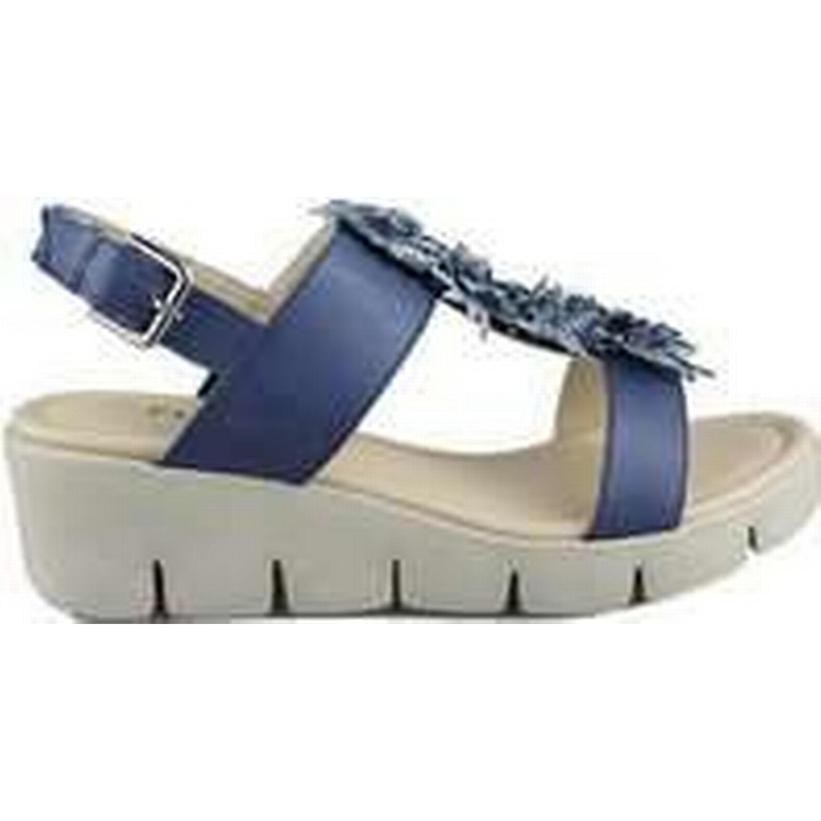 Spartoo.co.uk The Sandals Flexx FLEXX EMMA women's Sandals The in Blue 5c67dd