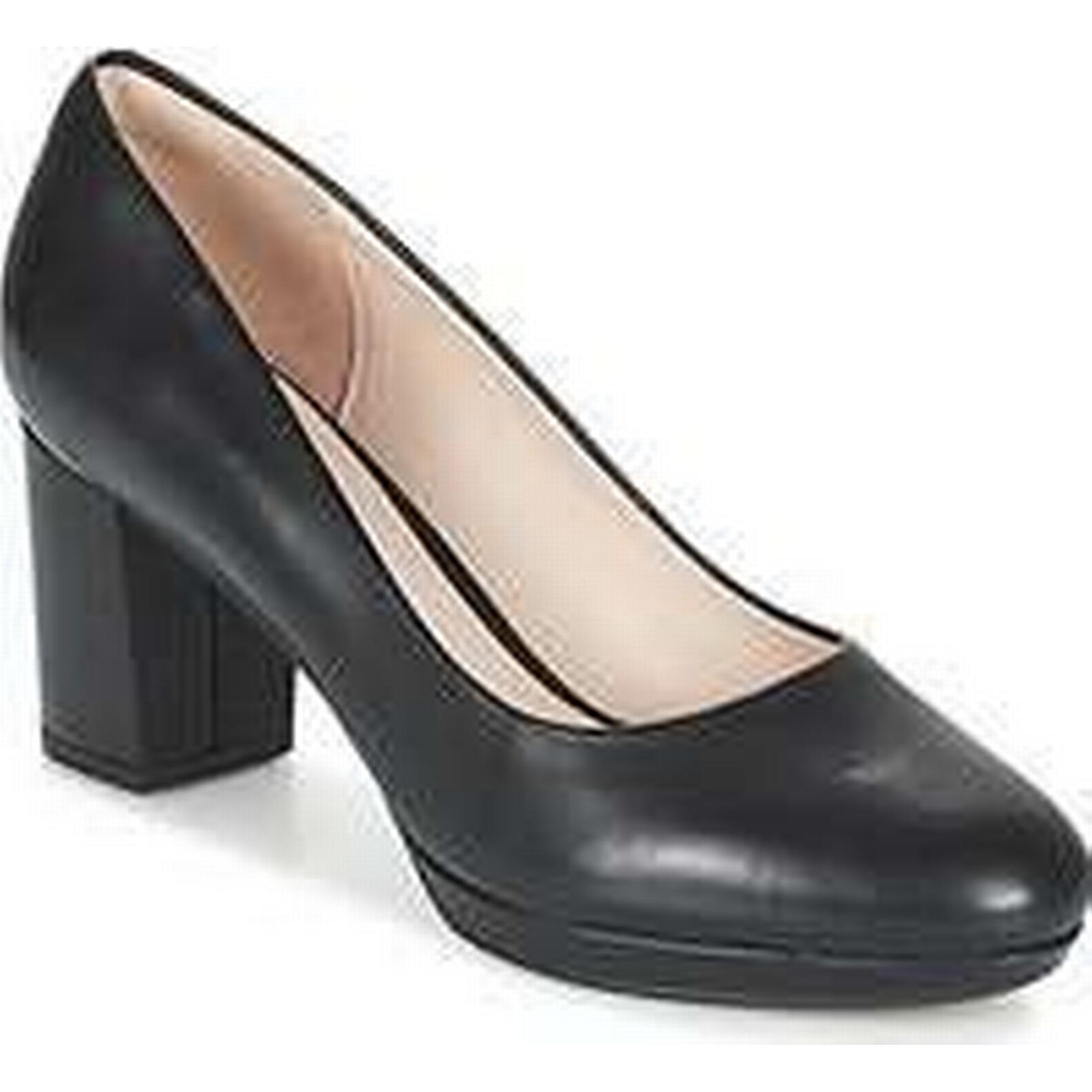 Spartoo.co.uk Clarks KELDA HOPE Black women's Court Shoes in Black HOPE d56e9e
