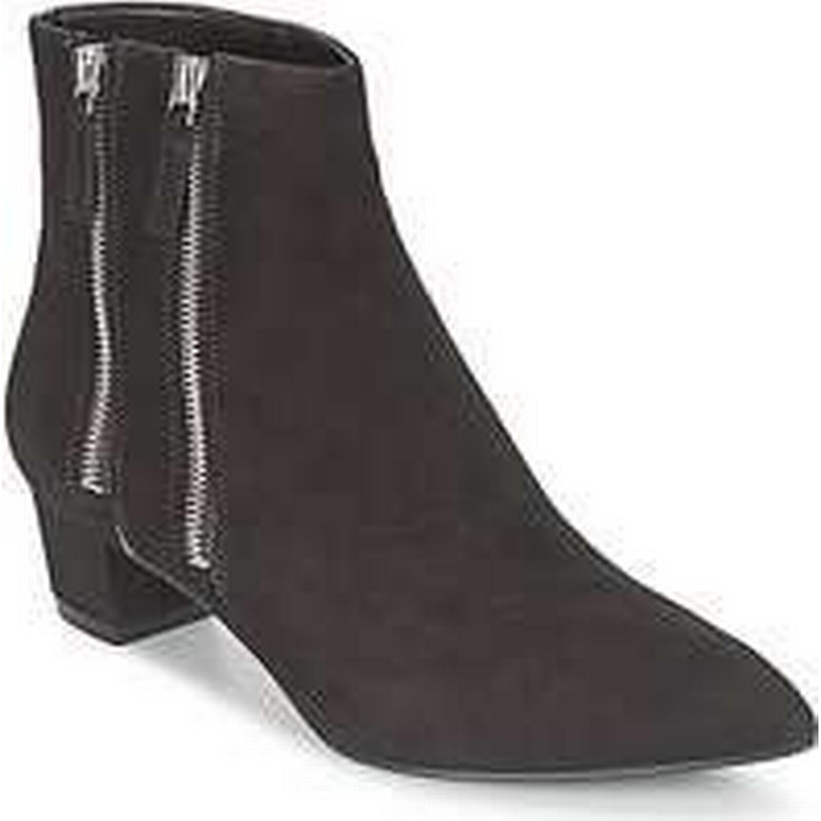 Spartoo.co.uk Nine Ankle West TUNICA women's Low Ankle Nine Boots in Black ae695a