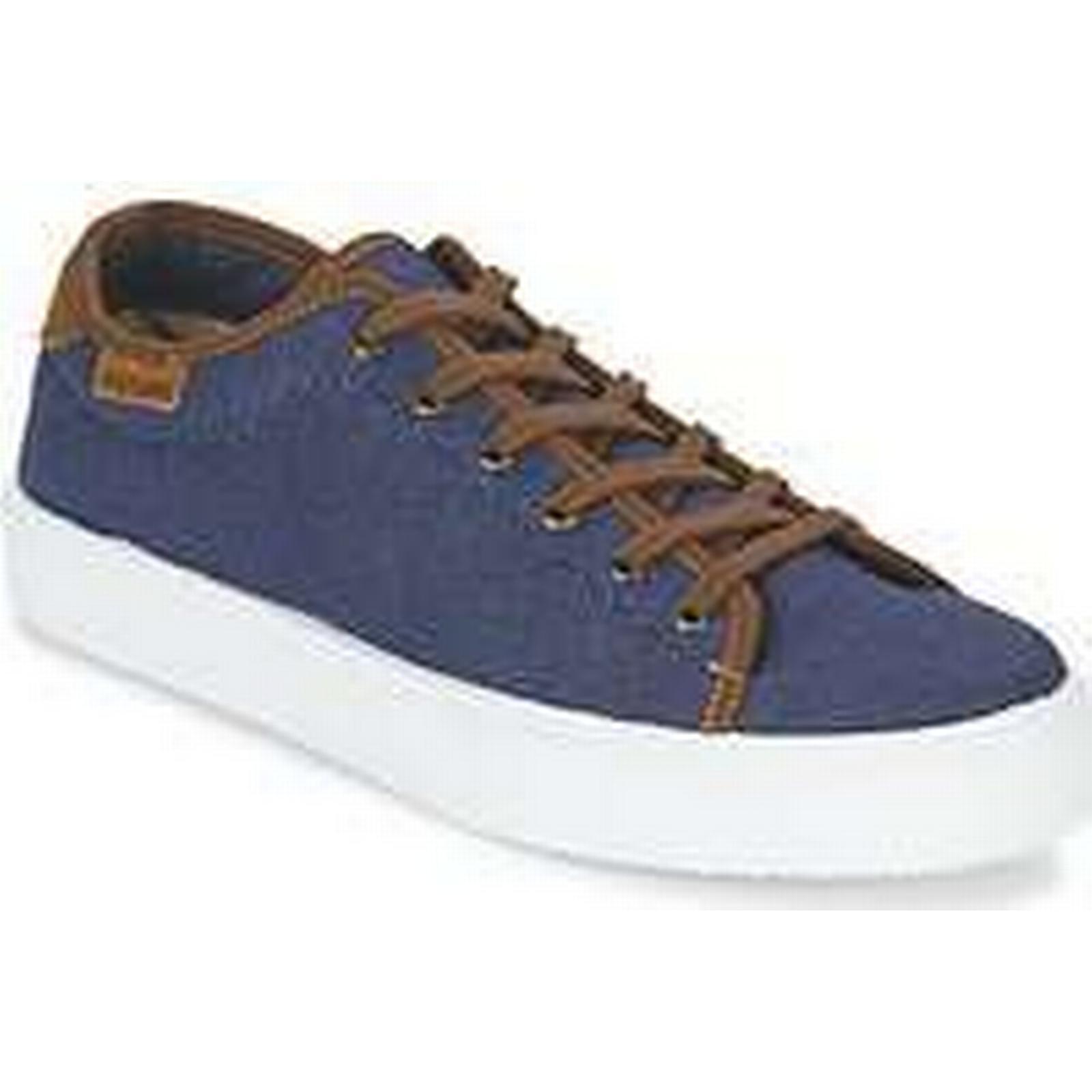 Spartoo.co.uk MARRON Victoria BASKET LINO DETALLE MARRON Spartoo.co.uk men's Shoes (Trainers) in Blue 045c54