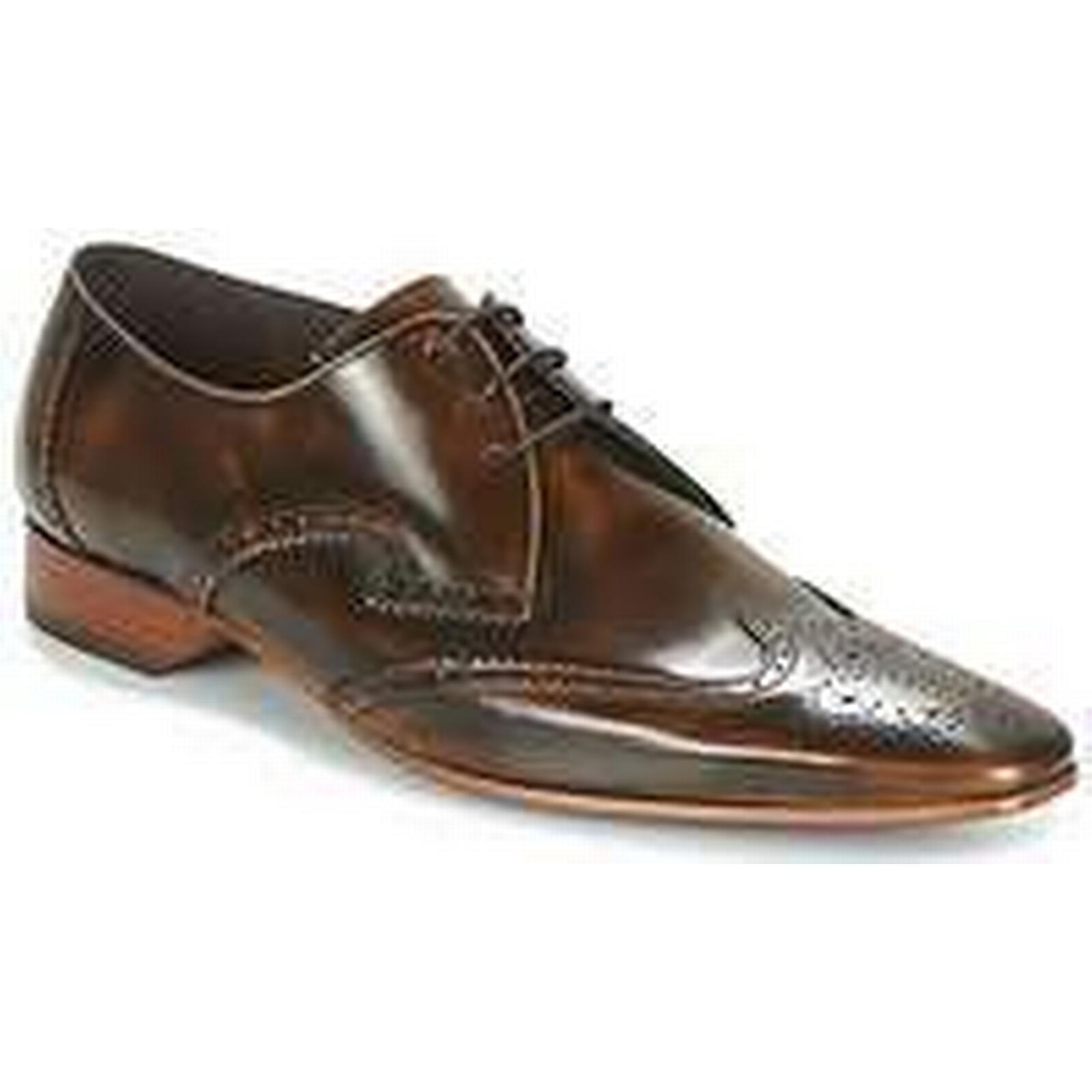 Spartoo.co.uk Smart Jeffery-West MIX BROGUE men's Smart Spartoo.co.uk / Formal Shoes in Brown 662439