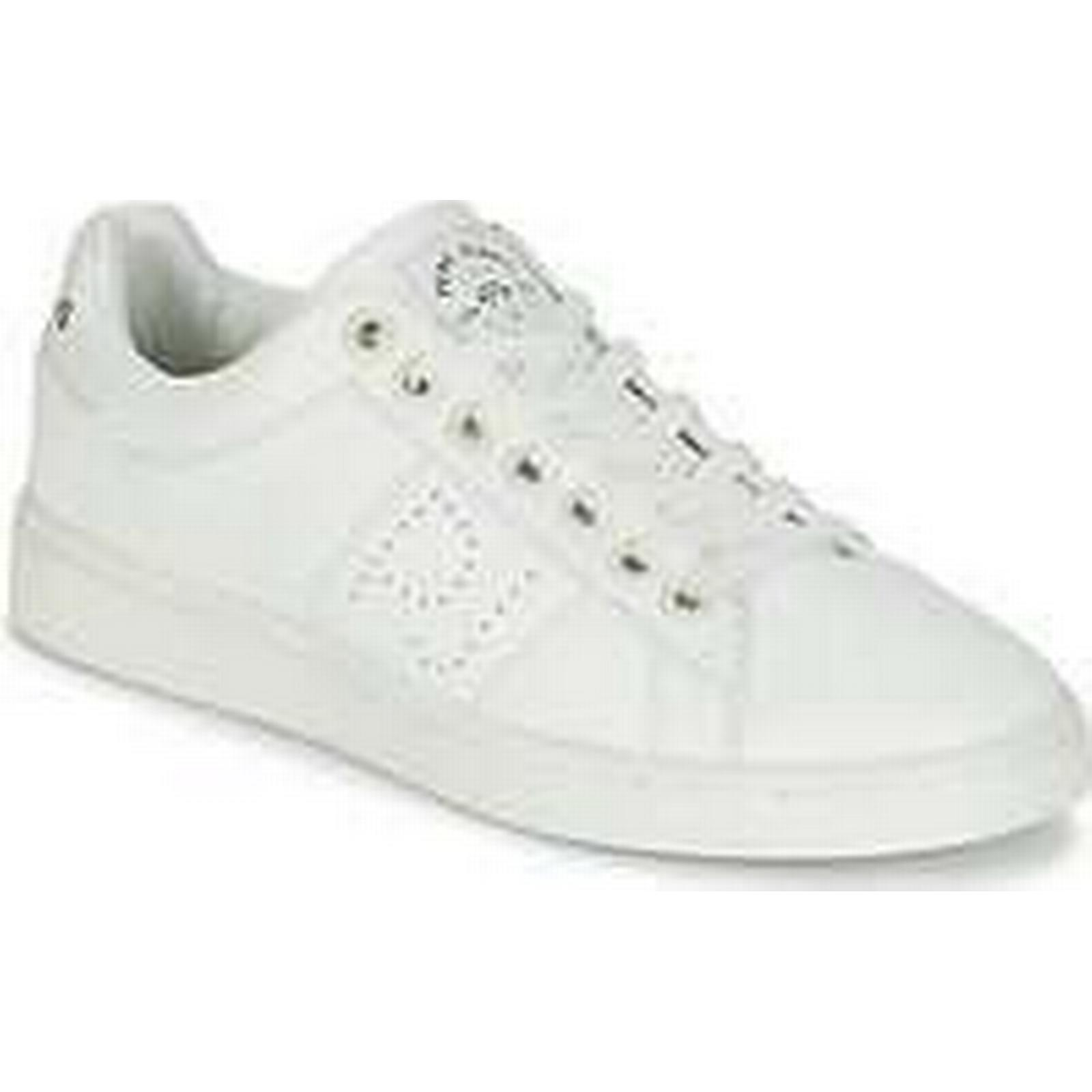 Spartoo.co.uk Pepe jeans NEW (Trainers) CLUB MONOCROME women's Shoes (Trainers) NEW in White 16d25d
