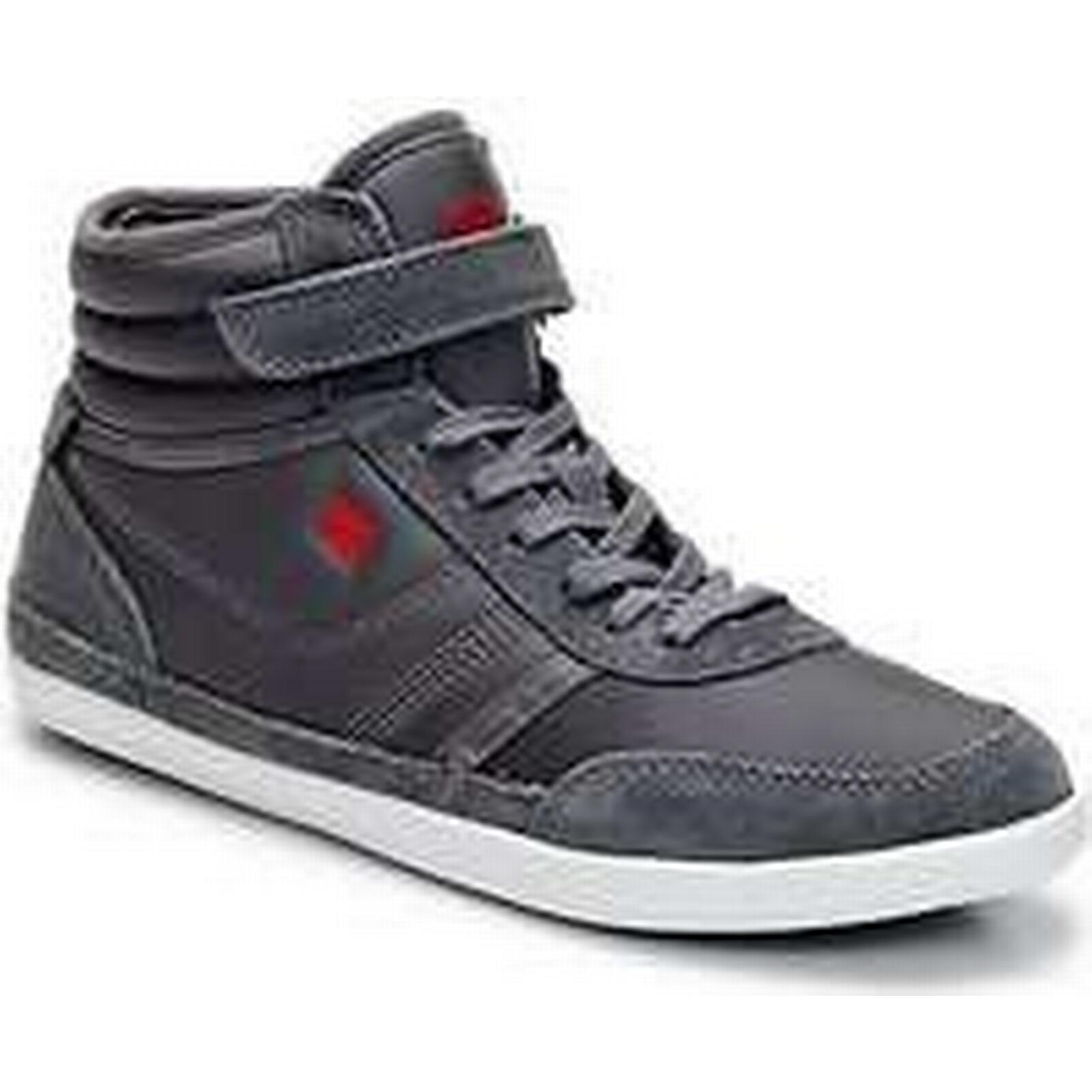 Spartoo.co.uk Dorotennis Shoes MONTANTE STREET VELCROS women's Shoes Dorotennis (High-top Trainers) in Grey 7c1f2e