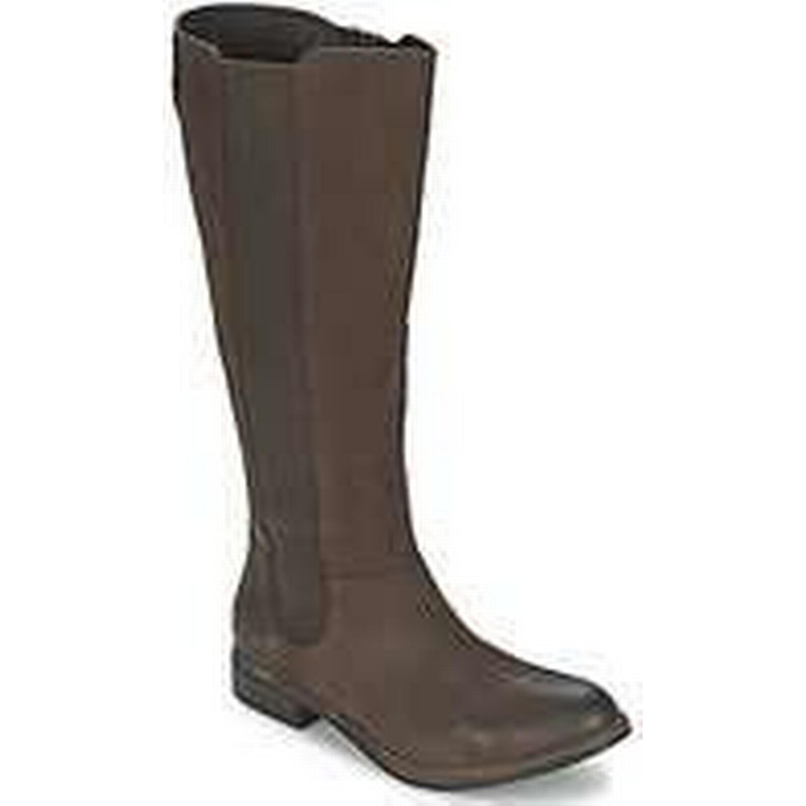 Spartoo.co.uk SPM CAIPIRINHA Boots women's High Boots CAIPIRINHA in Brown 9f4d66