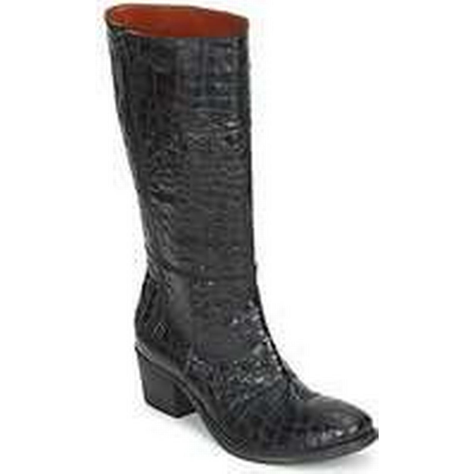 Spartoo.co.uk Fru.it ZULOU women's High Black Boots in Black High d2cd77