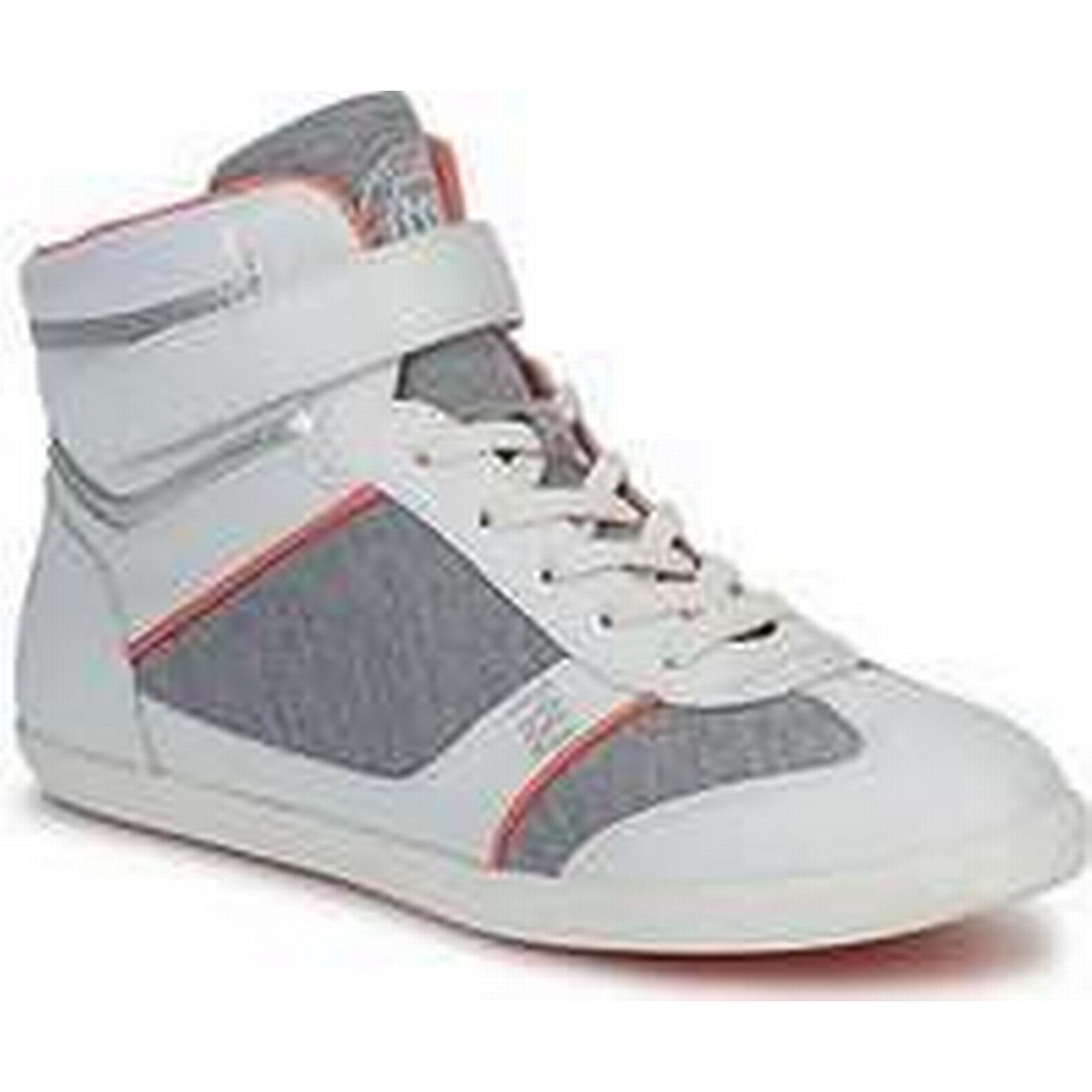 Spartoo.co.uk Dorotennis MONTANTE VELCRO women's Grey Shoes (High-top Trainers) in Grey women's e367f9