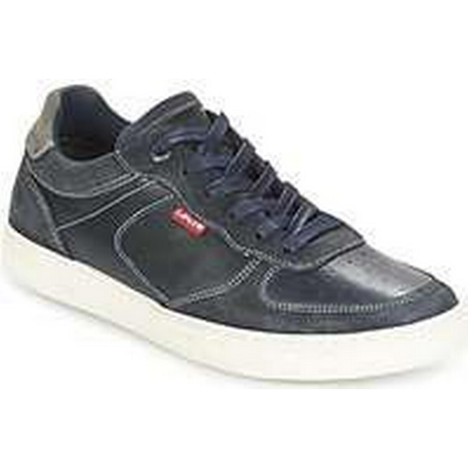 Spartoo.co.uk Levis PERRIS OXFORD in men's Shoes (Trainers) in OXFORD Blue d8bb26
