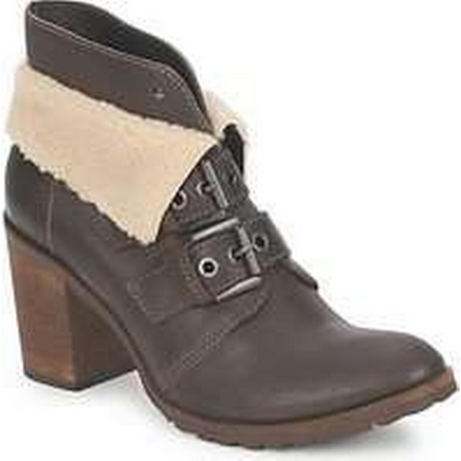 Spartoo.co.uk Un Low Matin d'Ete BRIAC women's Low Un Ankle Boots in Brown 649a6e