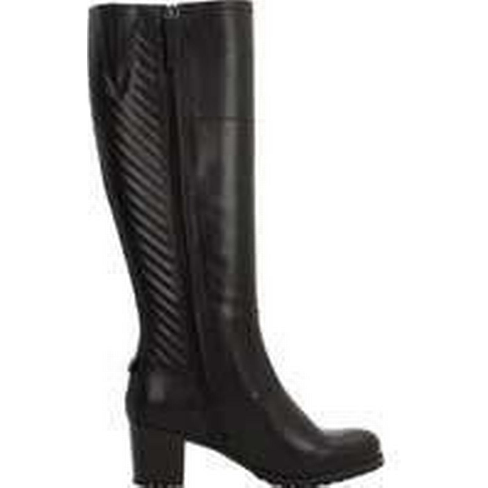 Spartoo.co.uk Geox High D LISE ABX women's High Geox Boots in Black 93cf0f