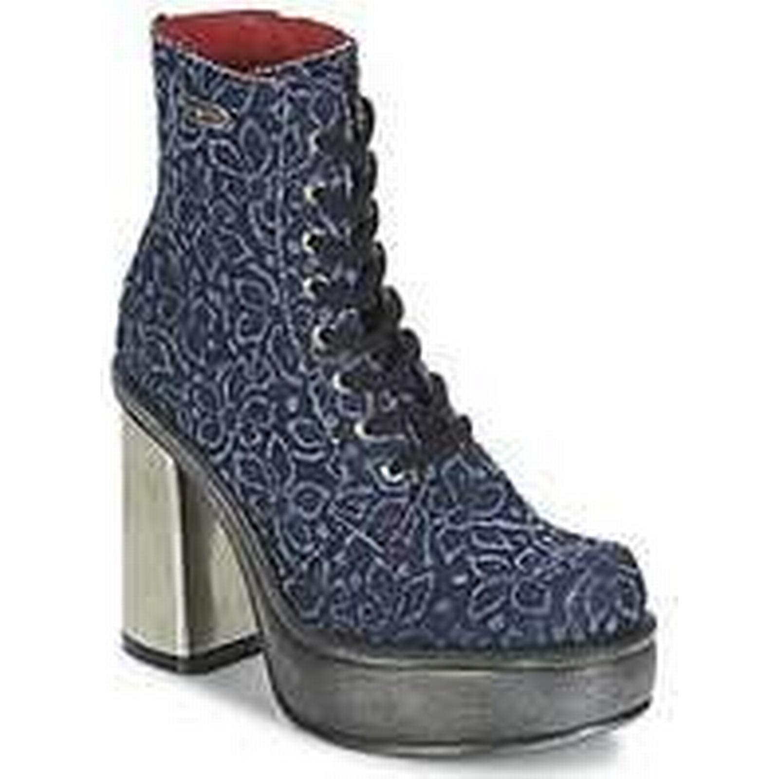 Spartoo.co.uk New Ankle Rock BOSTA women's Low Ankle New Boots in Blue d11911