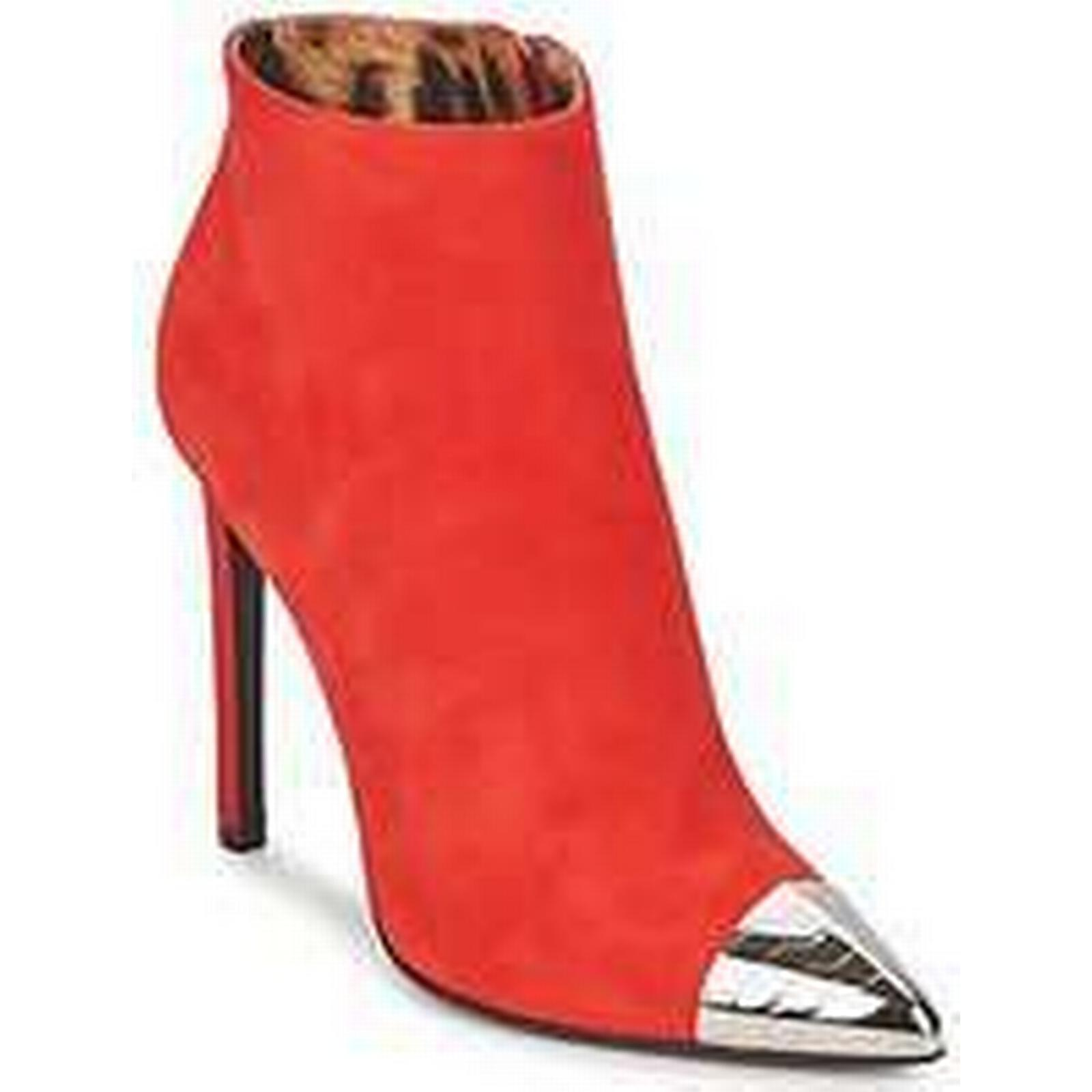 Spartoo.co.uk Roberto Cavalli WDS213 women's Red Low Ankle Boots in Red women's d2c805