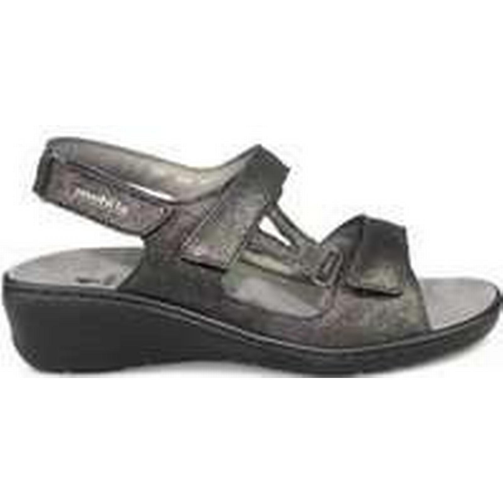 Spartoo.co.uk Mephisto JASMINE women's in Sandals in women's Black f42cd6