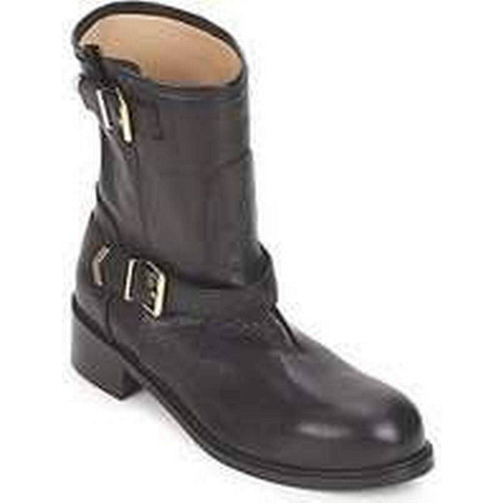 Spartoo.co.uk Boots Kallisté 5609 women's Mid Boots Spartoo.co.uk in Black 2b03aa