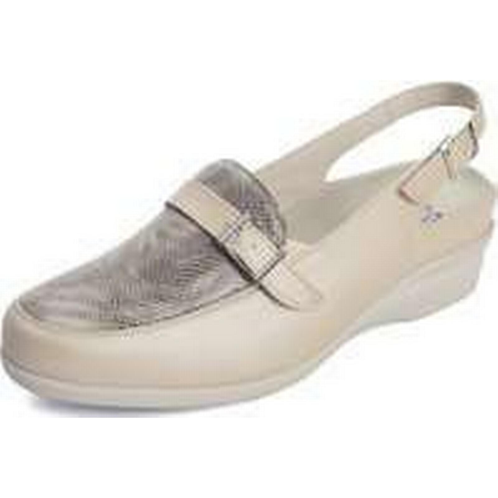Spartoo.co.uk Dtorres closed D TORRES l sandals closed Dtorres for templates women's Sandals in Beige 0642c1