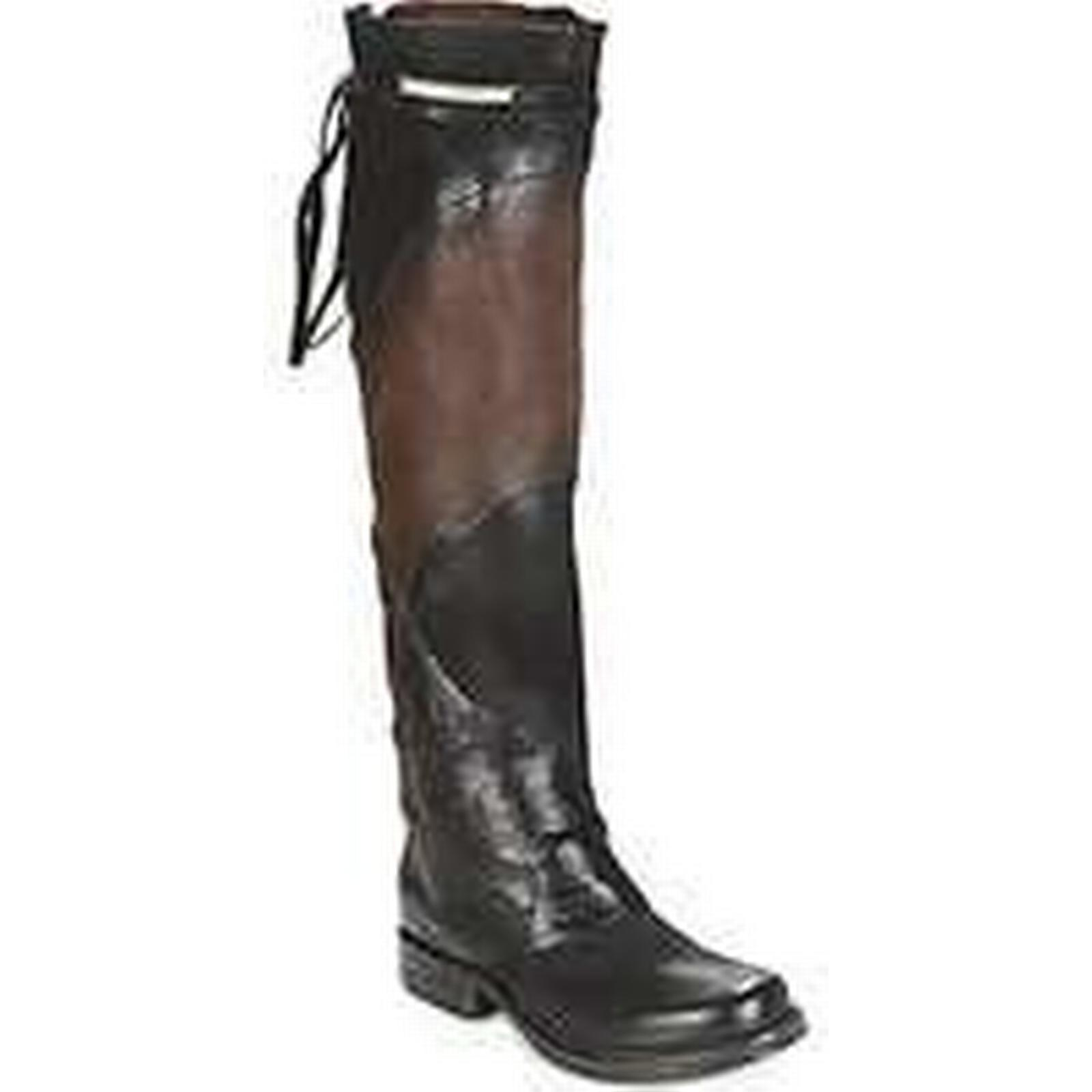 Spartoo.co.uk Airstep / A.S.98 SAINT EC in PATCH women's High Boots in EC Black aee29c