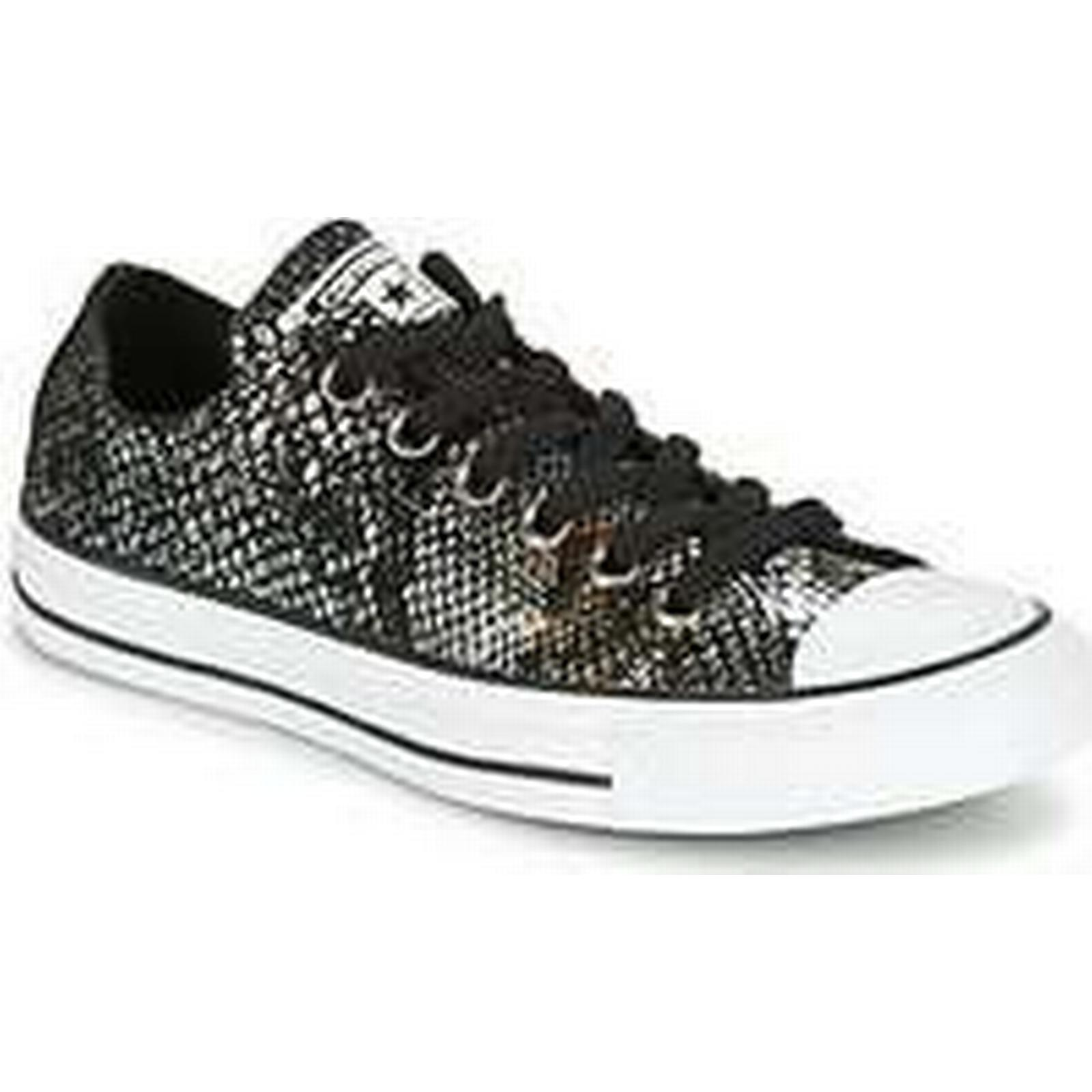 Spartoo.co.uk Converse CHUCK TAYLOR ALL STAR SNAKE FASHION SNAKE OX FASHION SNAKE STAR OX BLACK/BL women's Shoes (Trainers) in Black b541c0