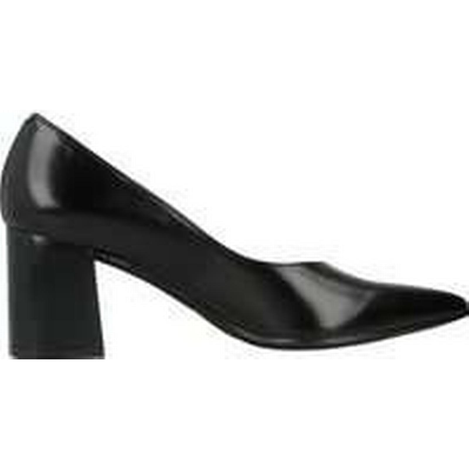 Spartoo.co.uk Zinda 3119Z women's Court Black Shoes in Black Court 437a8c