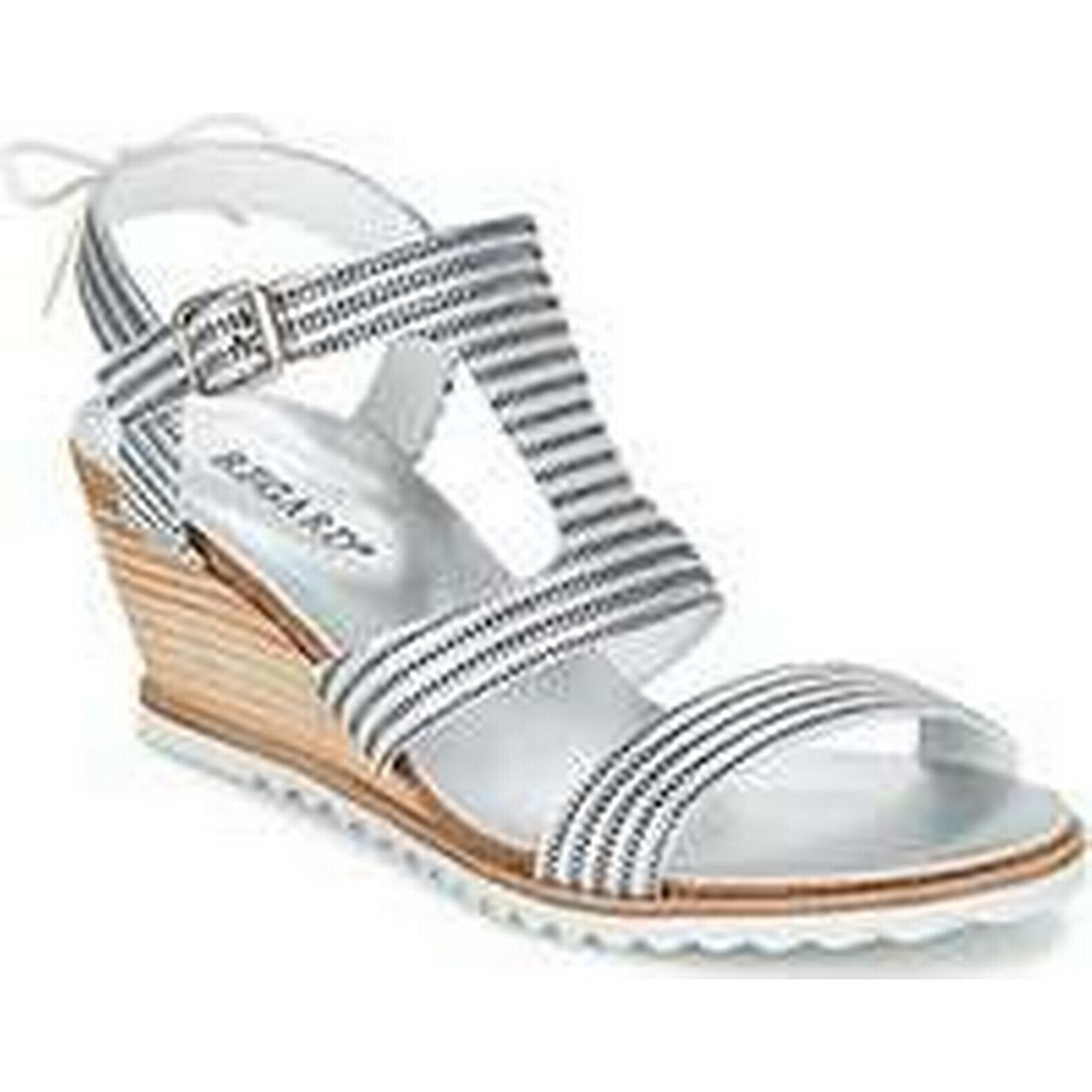 Spartoo.co.uk Regard Silver RUNAZO women's Sandals in Silver Regard 7f99a2