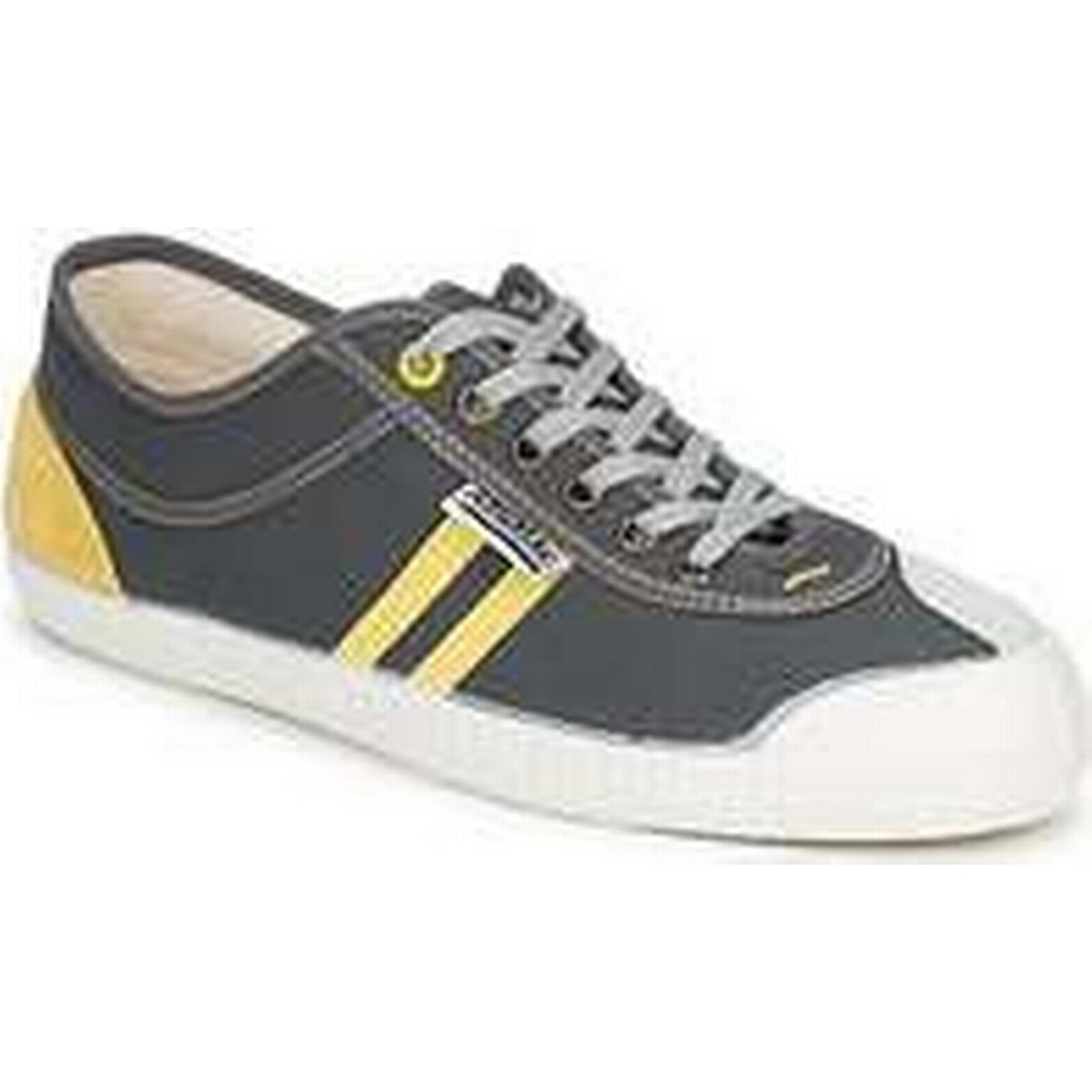 Spartoo.co.uk men's Kawasaki PLAYERS RETRO SP men's Spartoo.co.uk Shoes (Trainers) in Grey 04e57f