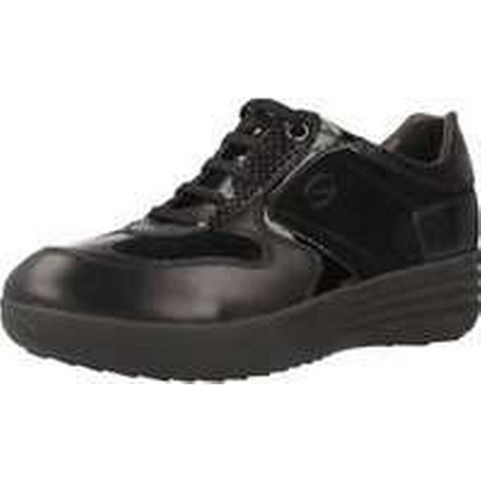 Spartoo.co.uk Stonefly (Trainers) ROMY 3 women's Shoes (Trainers) Stonefly in Black 64db60